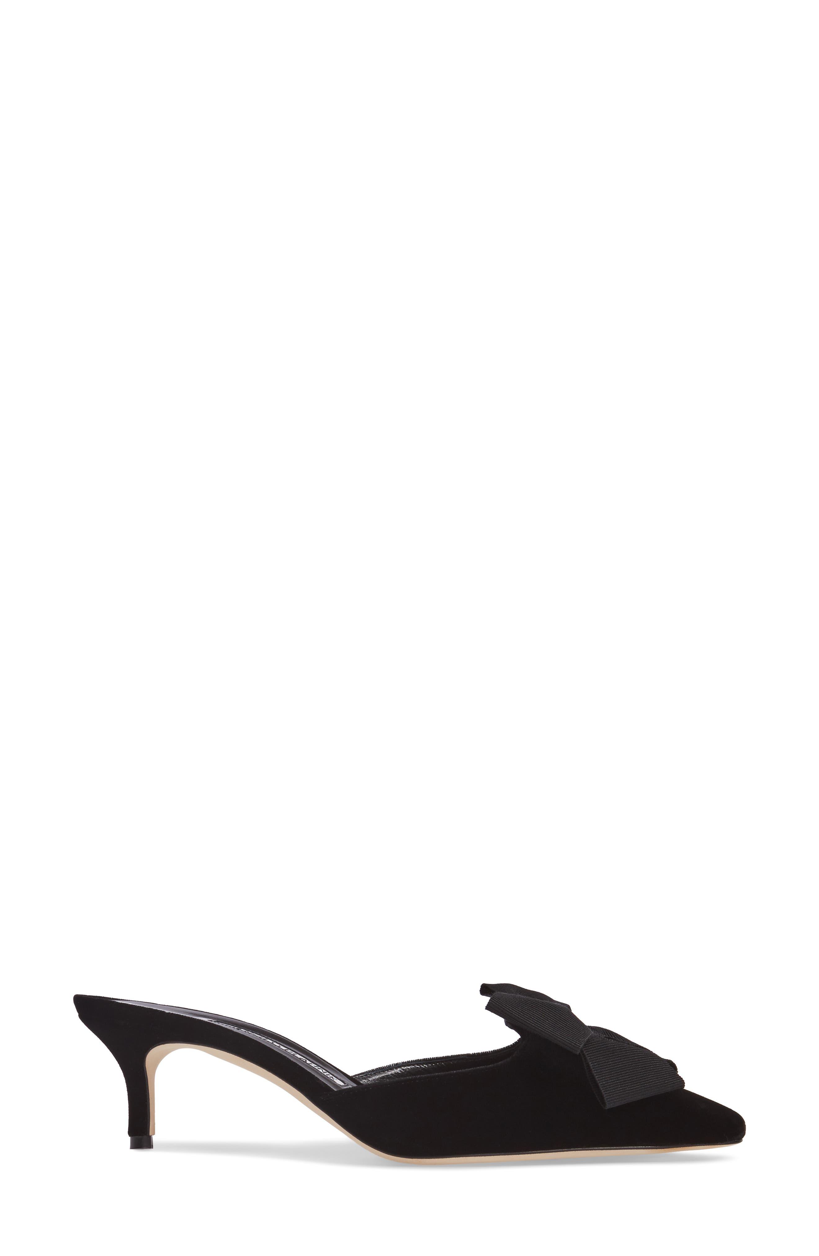Copena Mule,                             Alternate thumbnail 3, color,                             Black Velvet