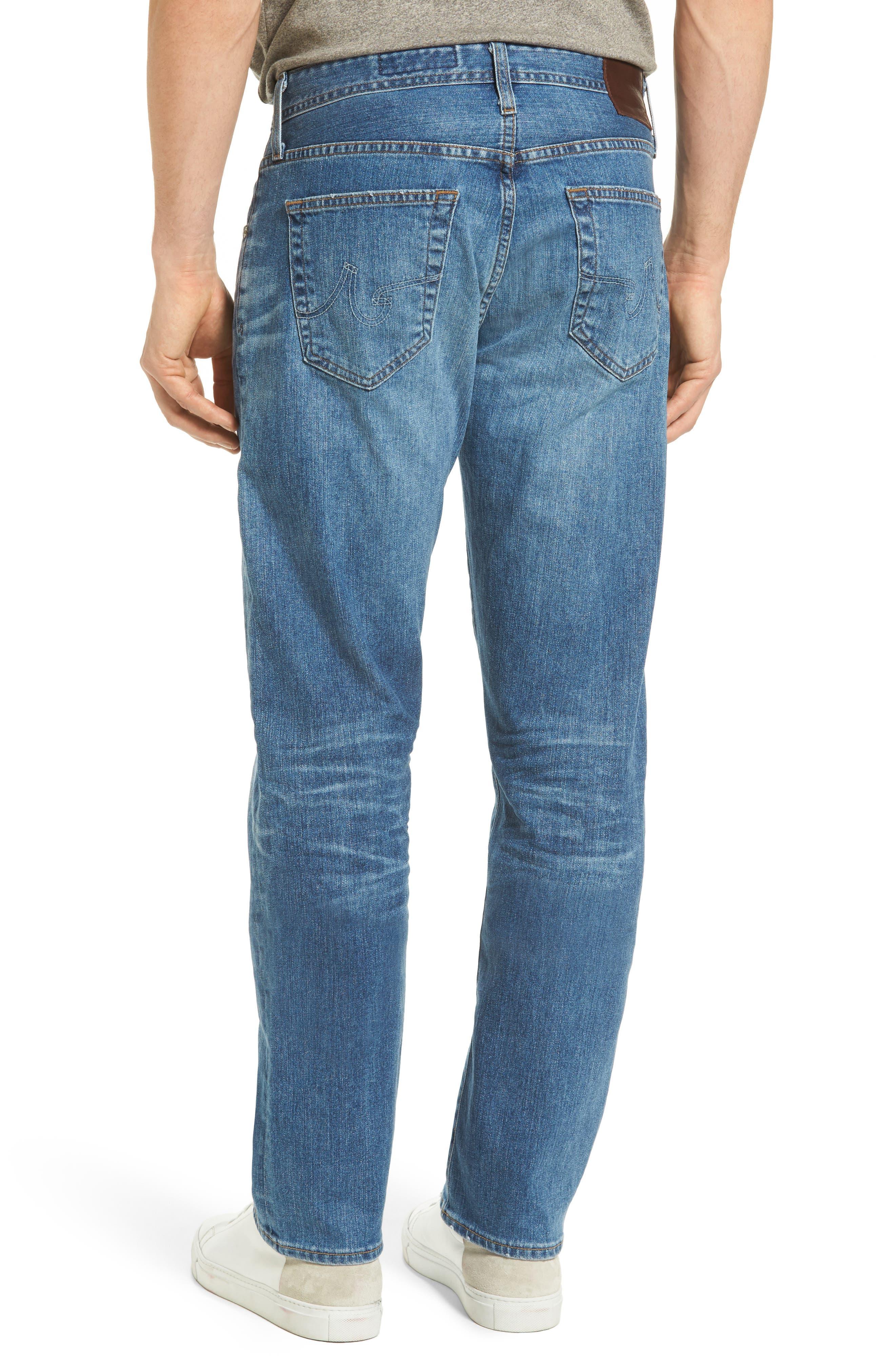 Ives Straight Leg Jeans,                             Alternate thumbnail 2, color,                             16 Years Broken Ground