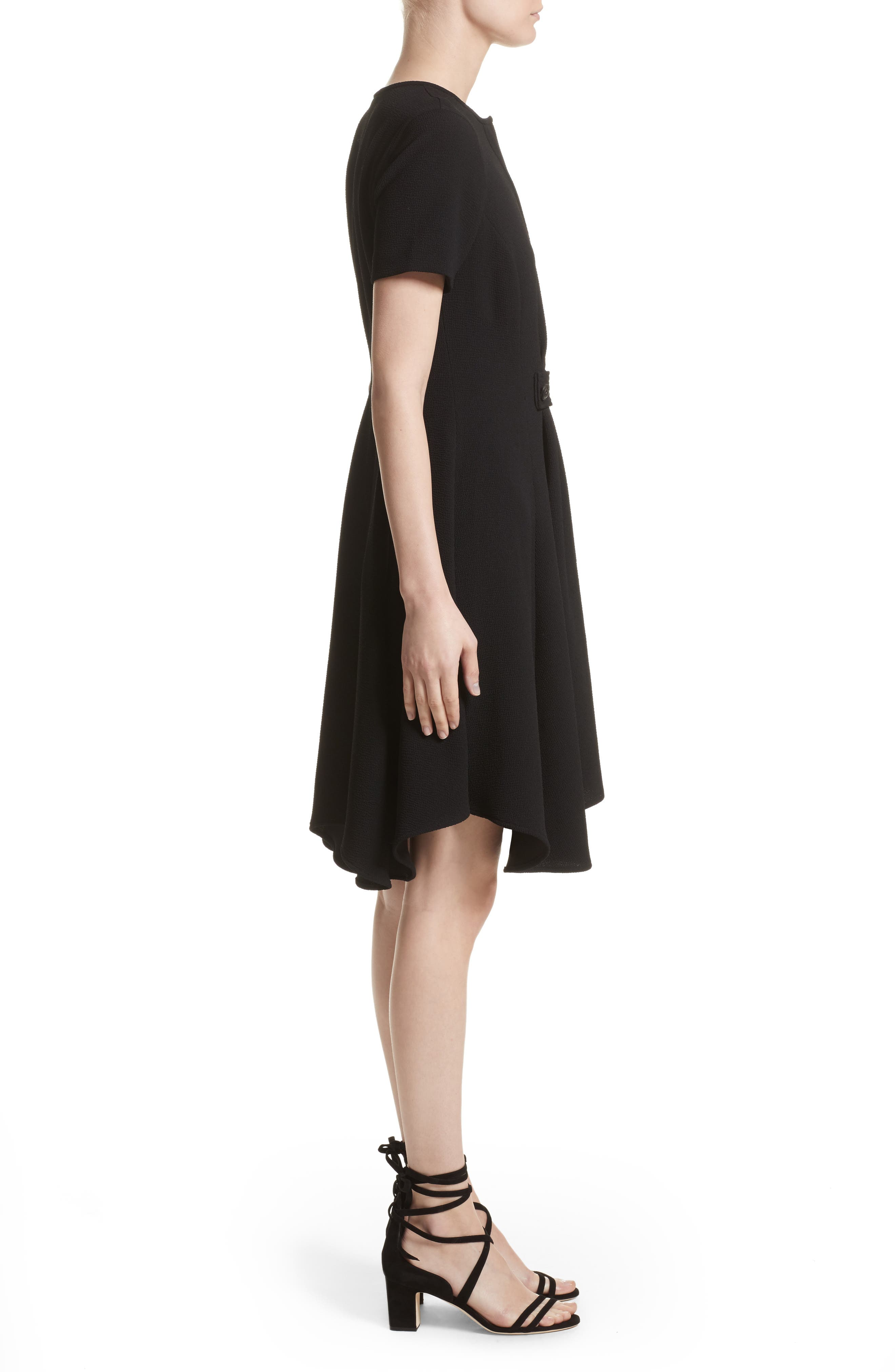 Maressa Dress,                             Alternate thumbnail 6, color,                             Black