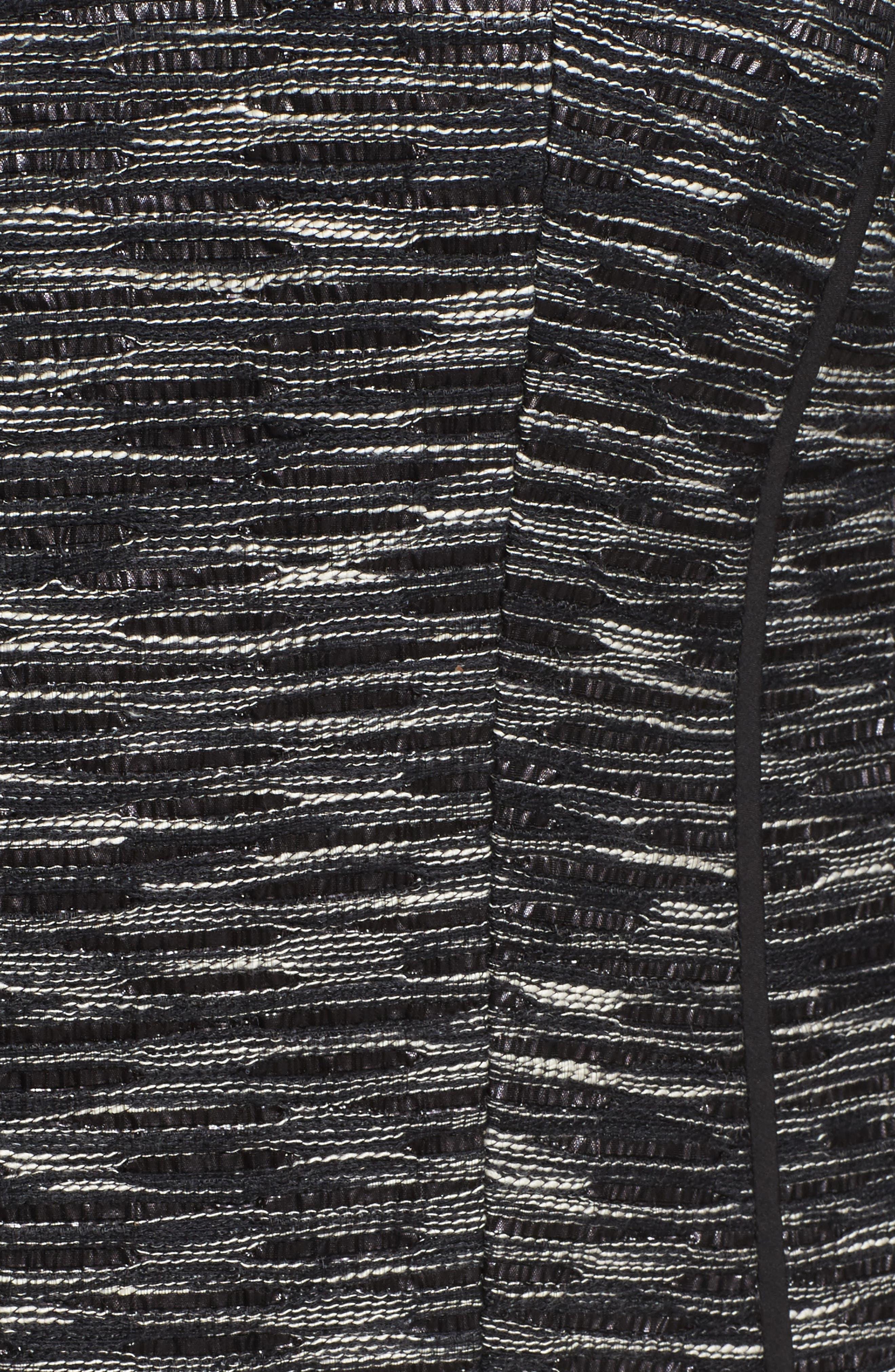 Meryl Zip Front Jacket,                             Alternate thumbnail 5, color,                             Black Multi