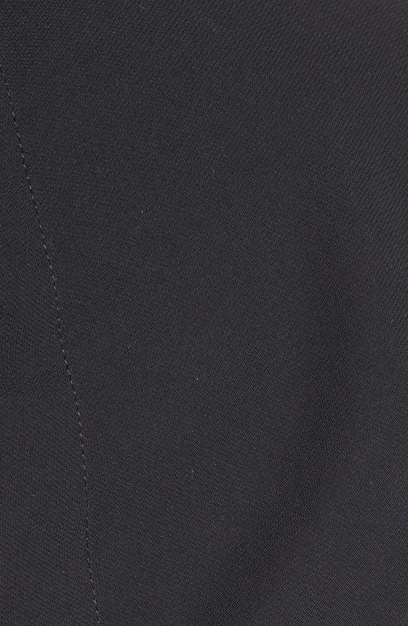 Alternate Image 5  - Victoria, Victoria Beckham Gathered Open Back Shift Dress