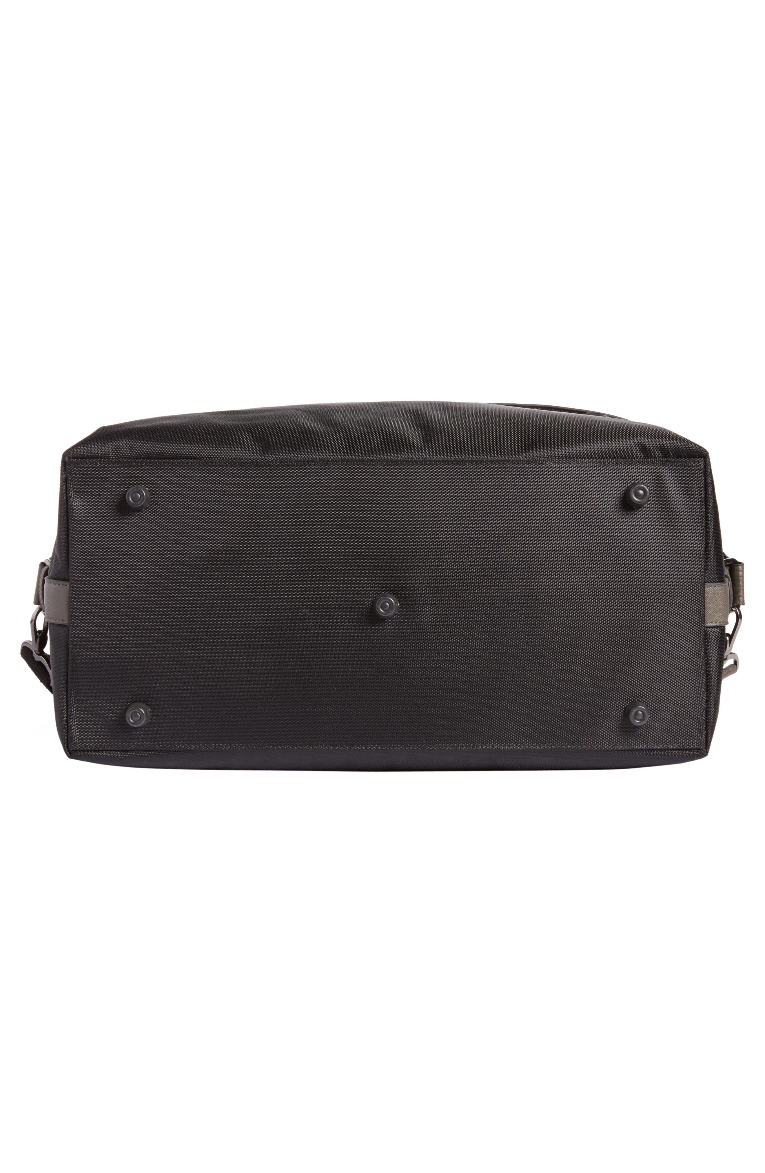 Zeebee Duffel Bag,                             Alternate thumbnail 6, color,                             Black