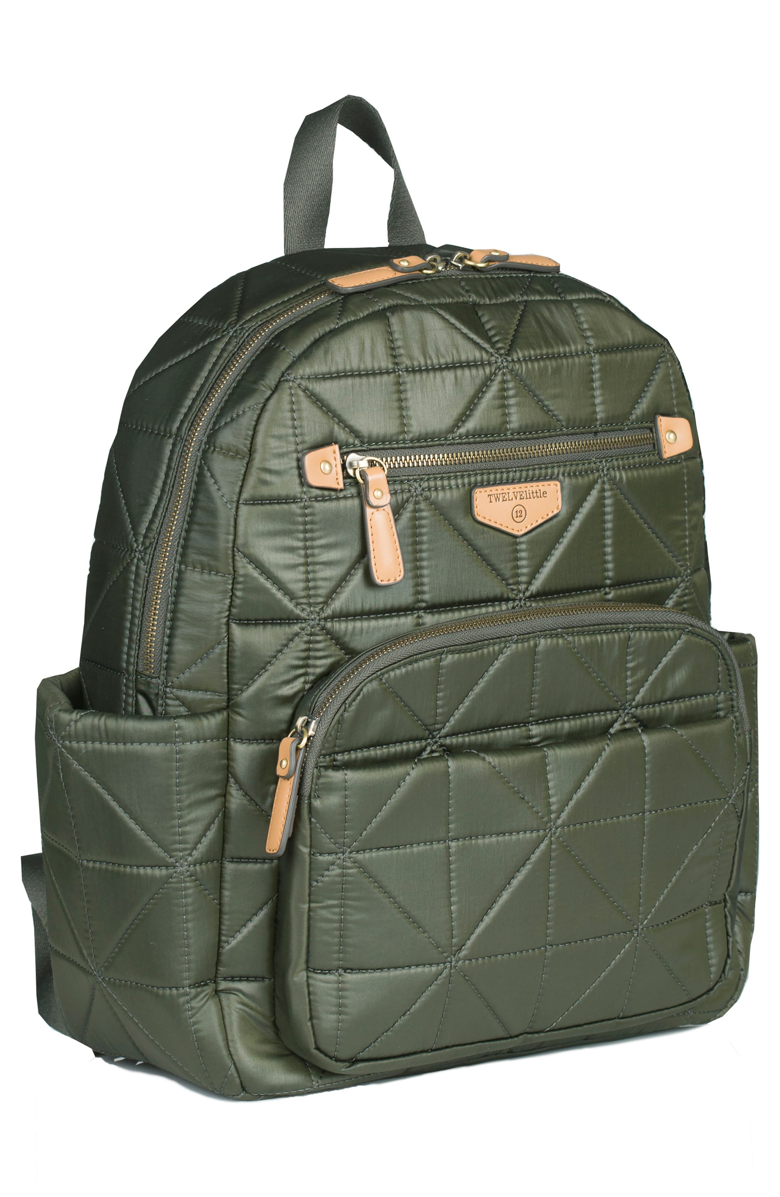 Alternate Image 4  - TWELVElittle 'Companion Backpack' Quilted Nylon Diaper Bag