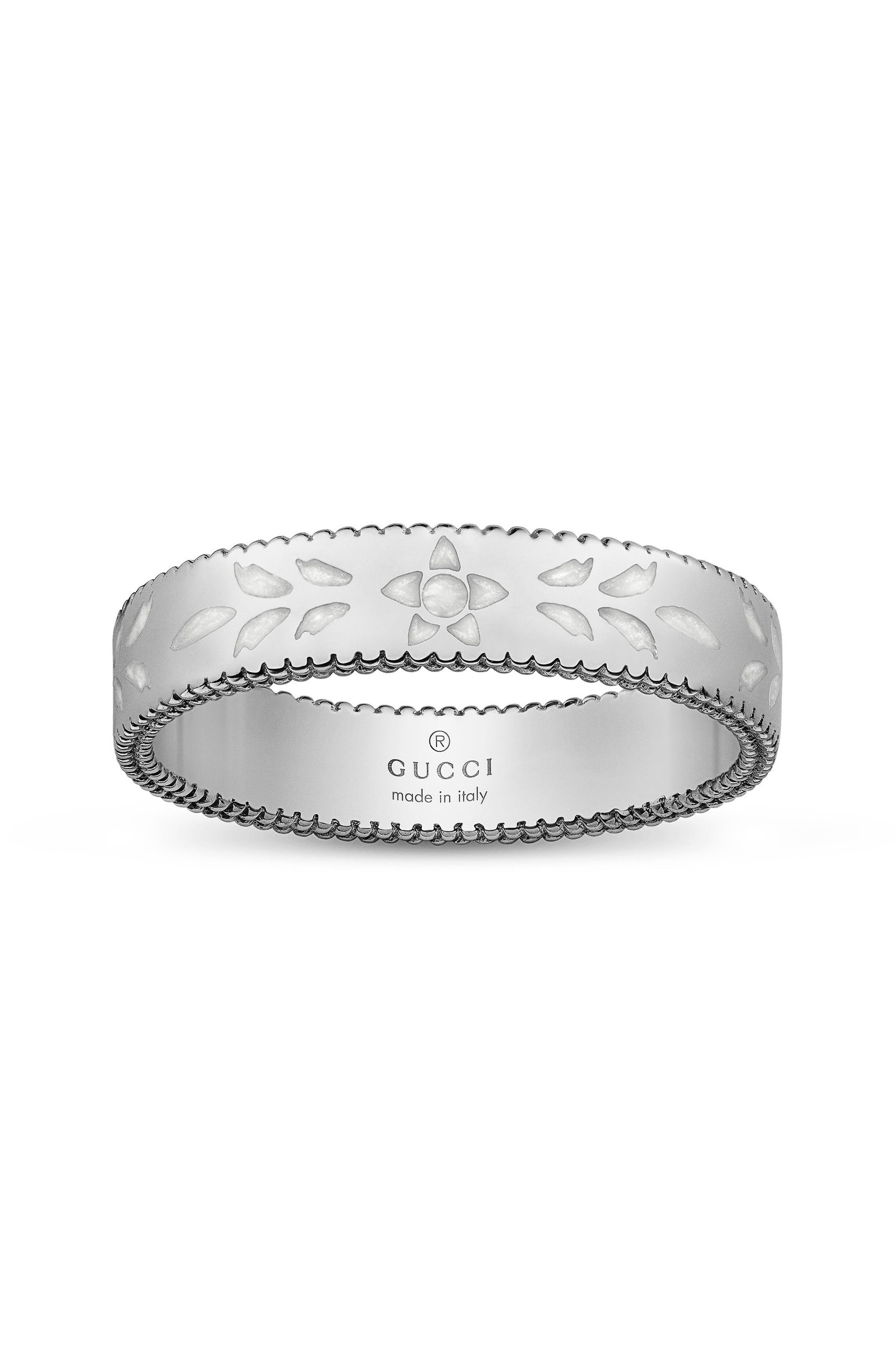 Gucci Icon Thin Band Ring