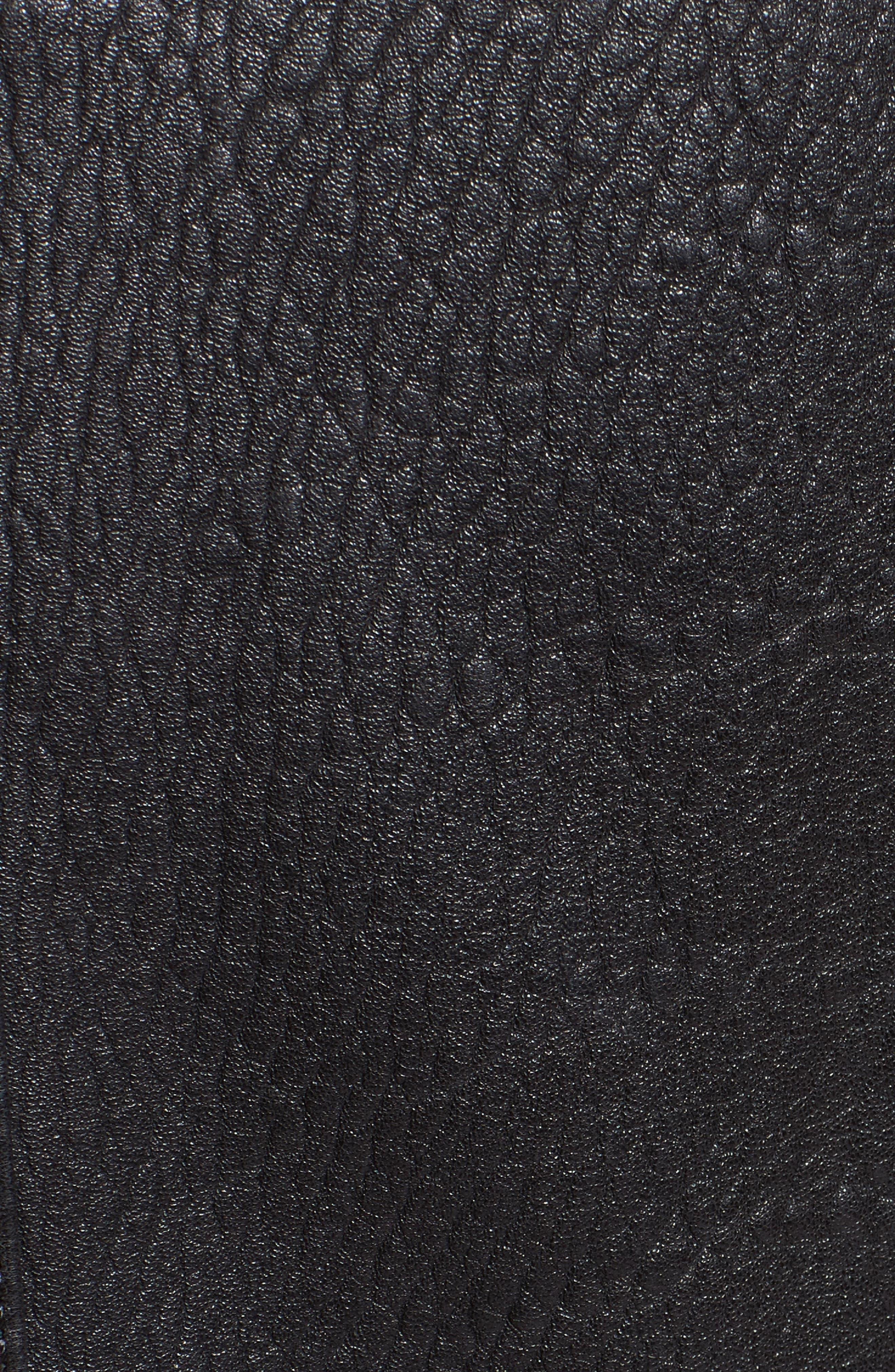 Alternate Image 3  - Proenza Schouler Pebbled Leather Moto Jacket