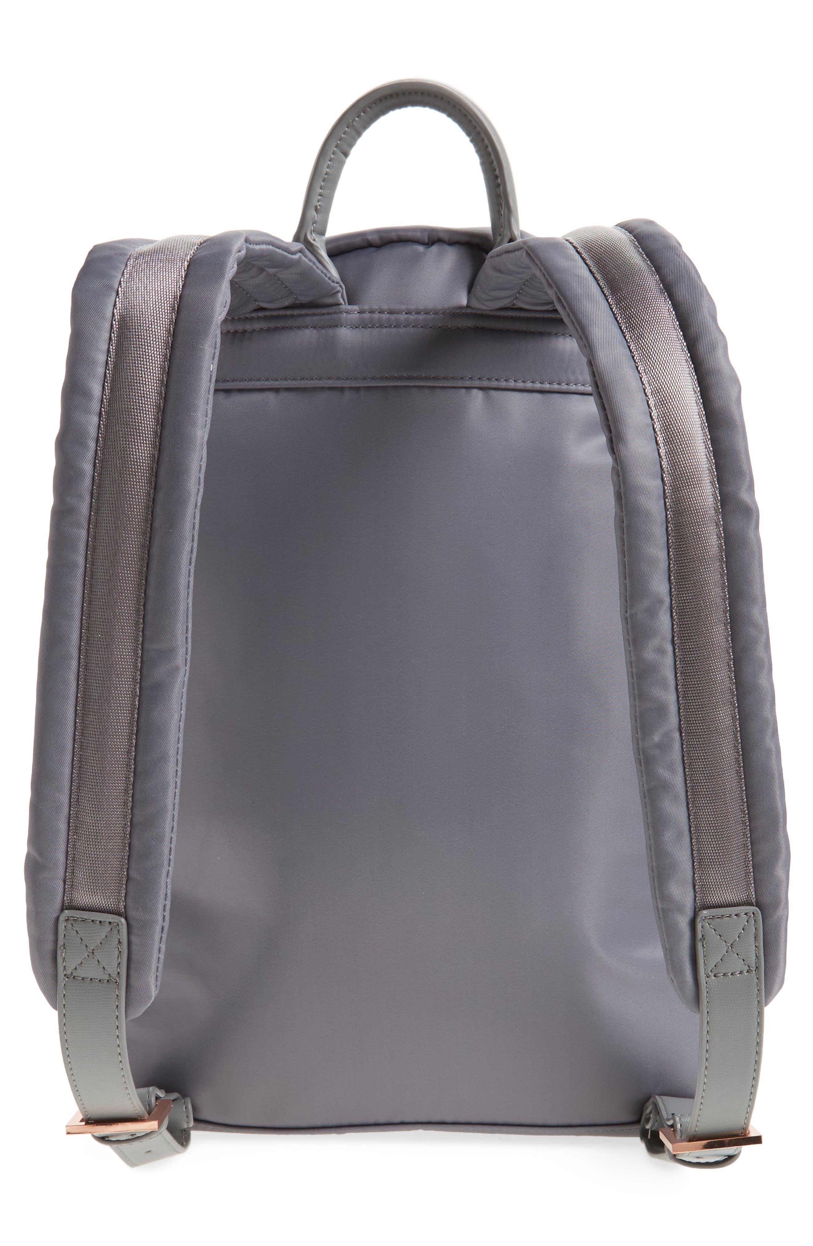 Olica Oriental Blossom Backpack,                             Alternate thumbnail 2, color,                             Light Grey