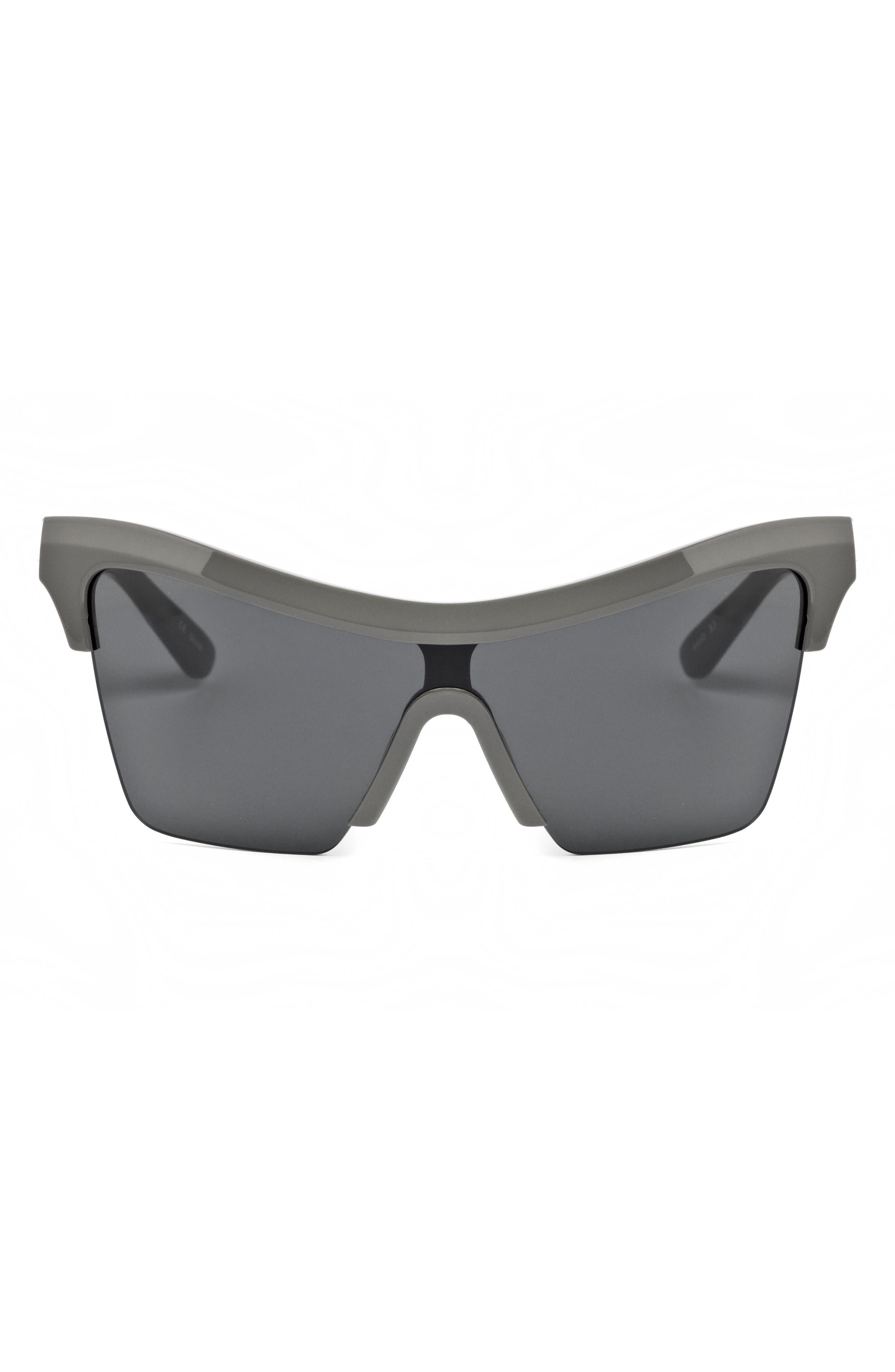 Passport Control 68mm Sunglasses,                             Alternate thumbnail 3, color,                             Grey