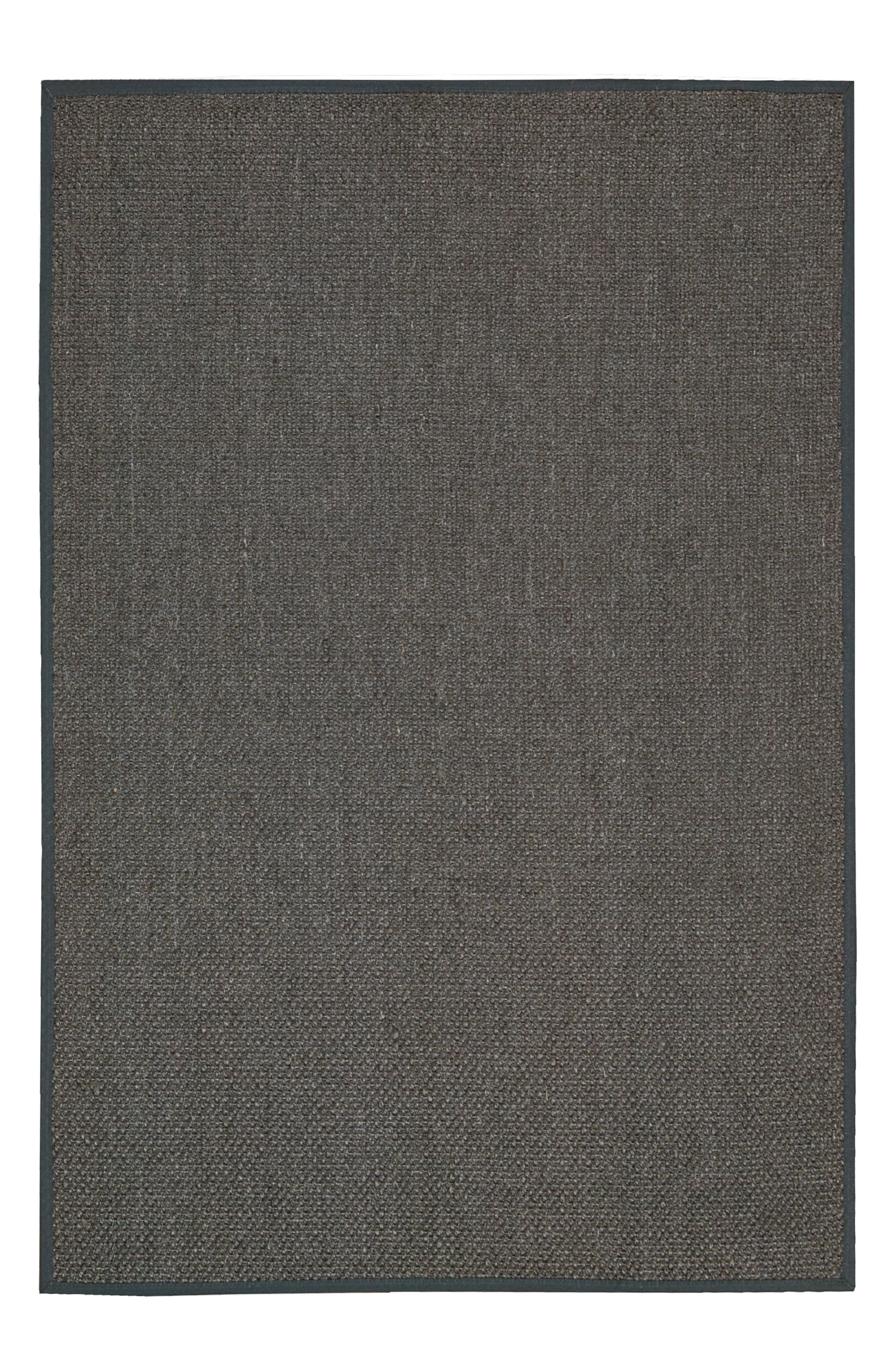 Kerala Java Sisal Area Rug,                             Main thumbnail 1, color,                             Charcoal