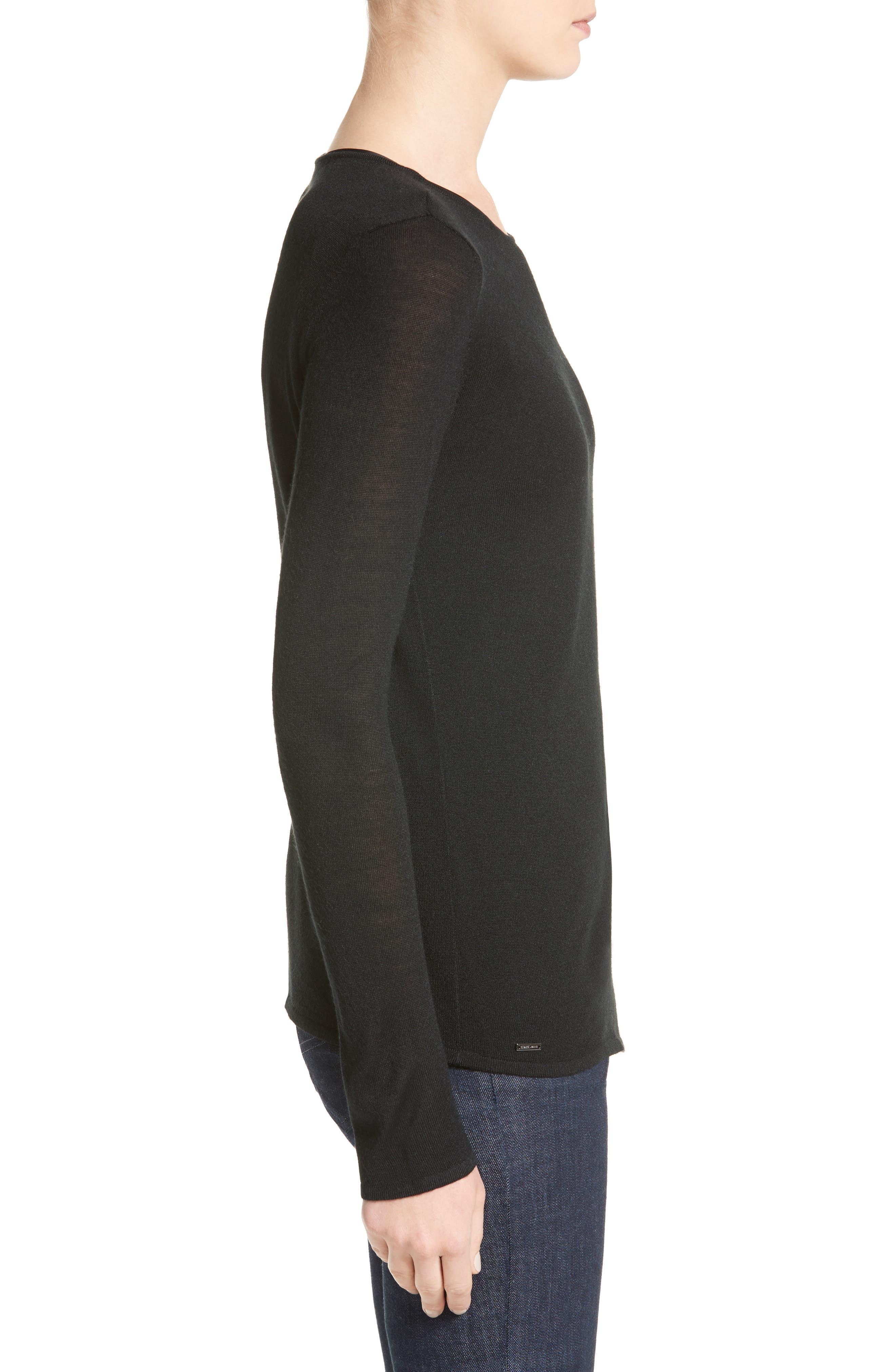 Alternate Image 3  - Armani Jeans D-Ring Wool Blend Sweater