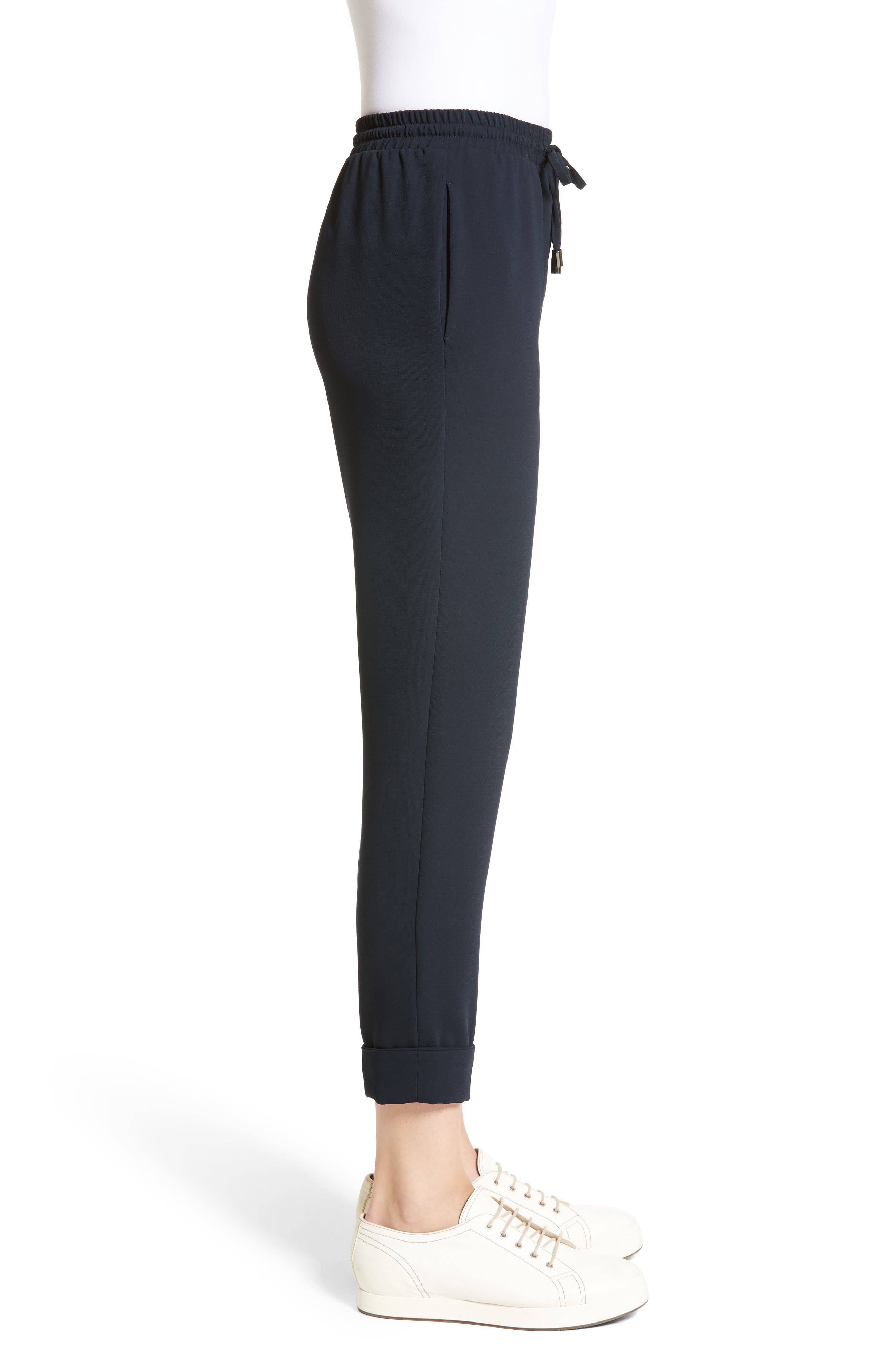 Armani Jeans Tech Jogger Pants,                             Alternate thumbnail 5, color,                             Navy