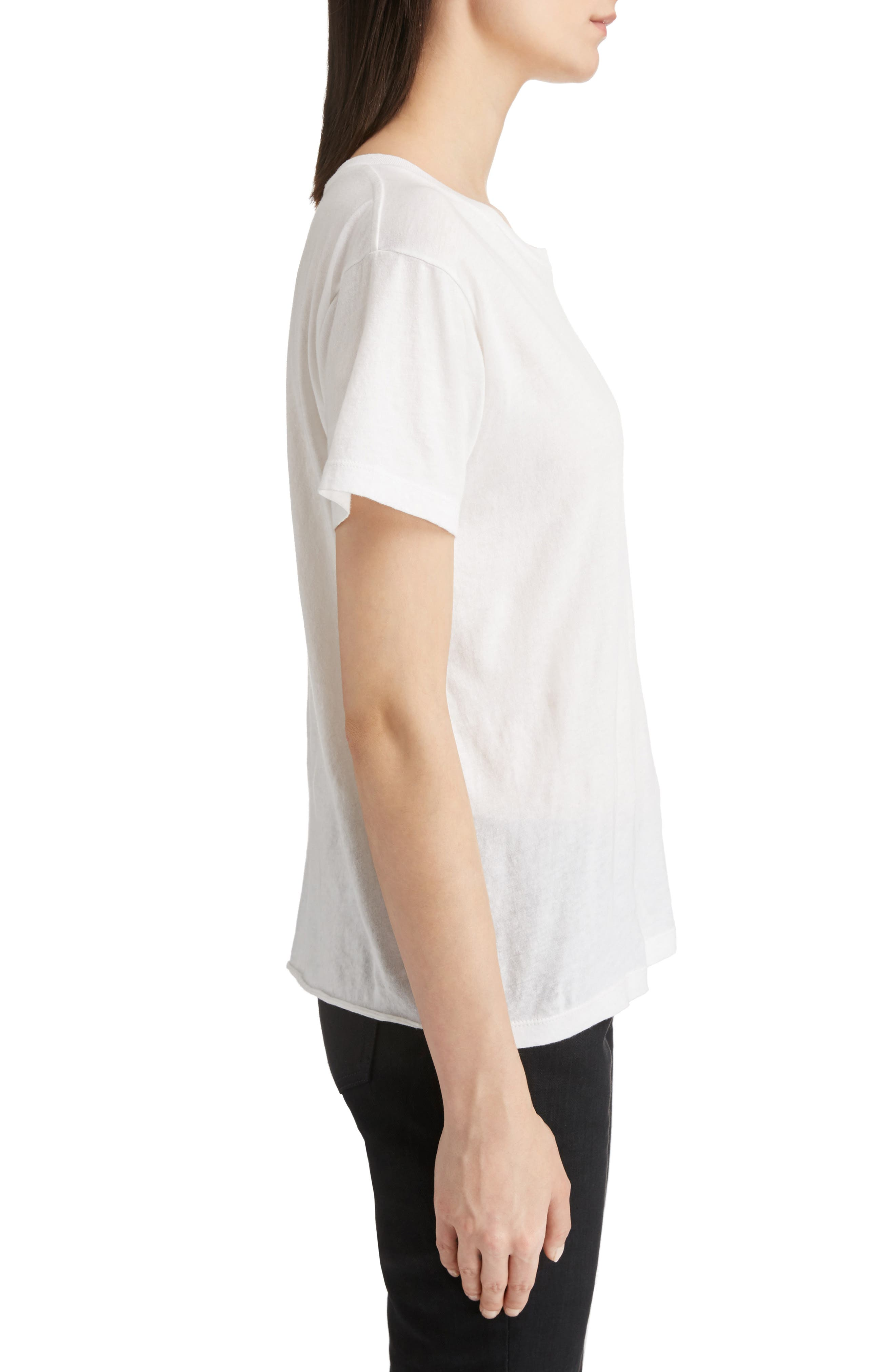 Alternate Image 4  - Saint Laurent S & L Logo Print Tee