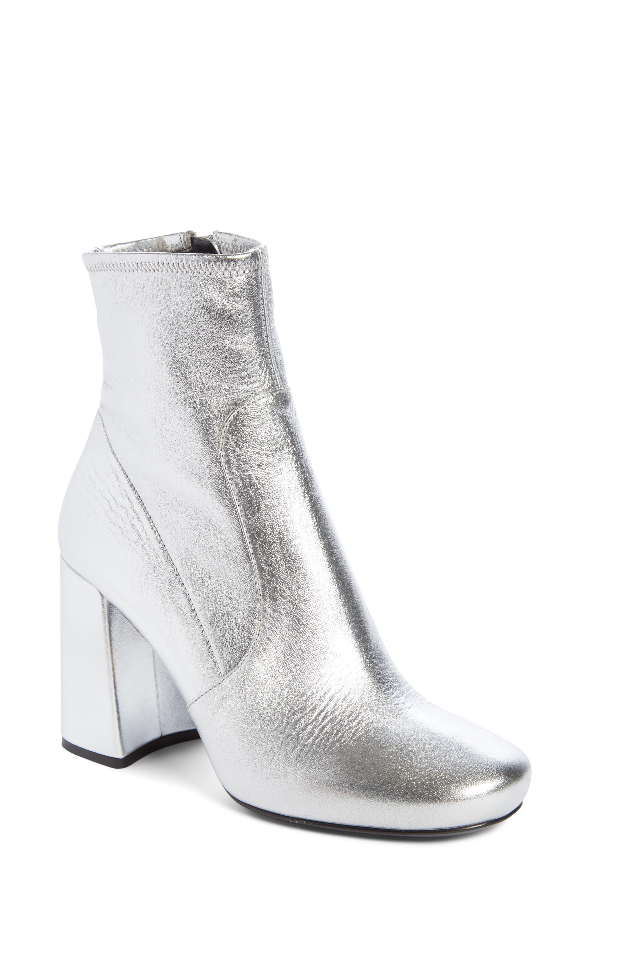 Prada Block Heel Bootie (Women)
