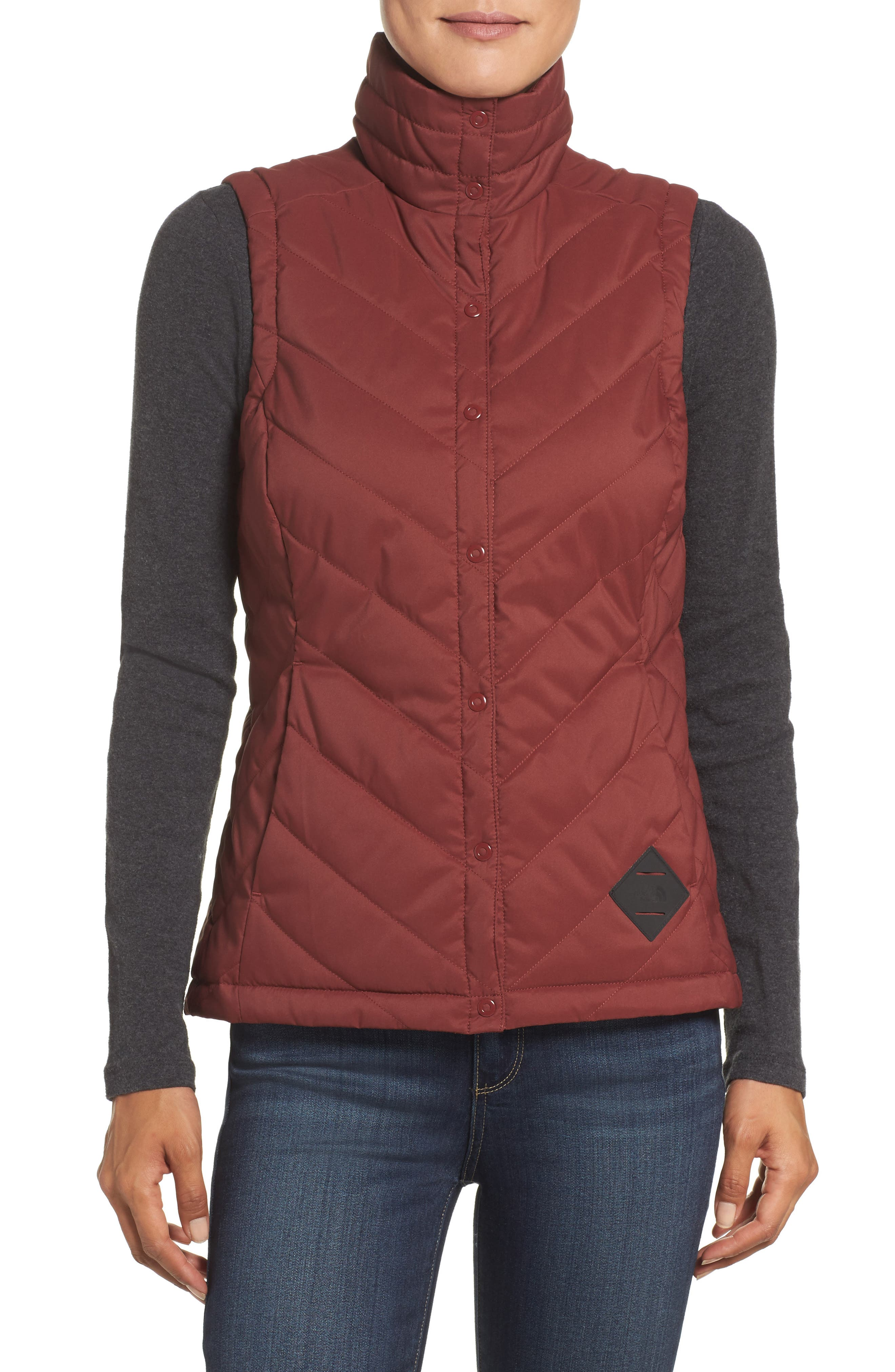 Alternate Image 1 Selected - The North Face Rainier Puffer Vest (Nordstrom Exclusive)