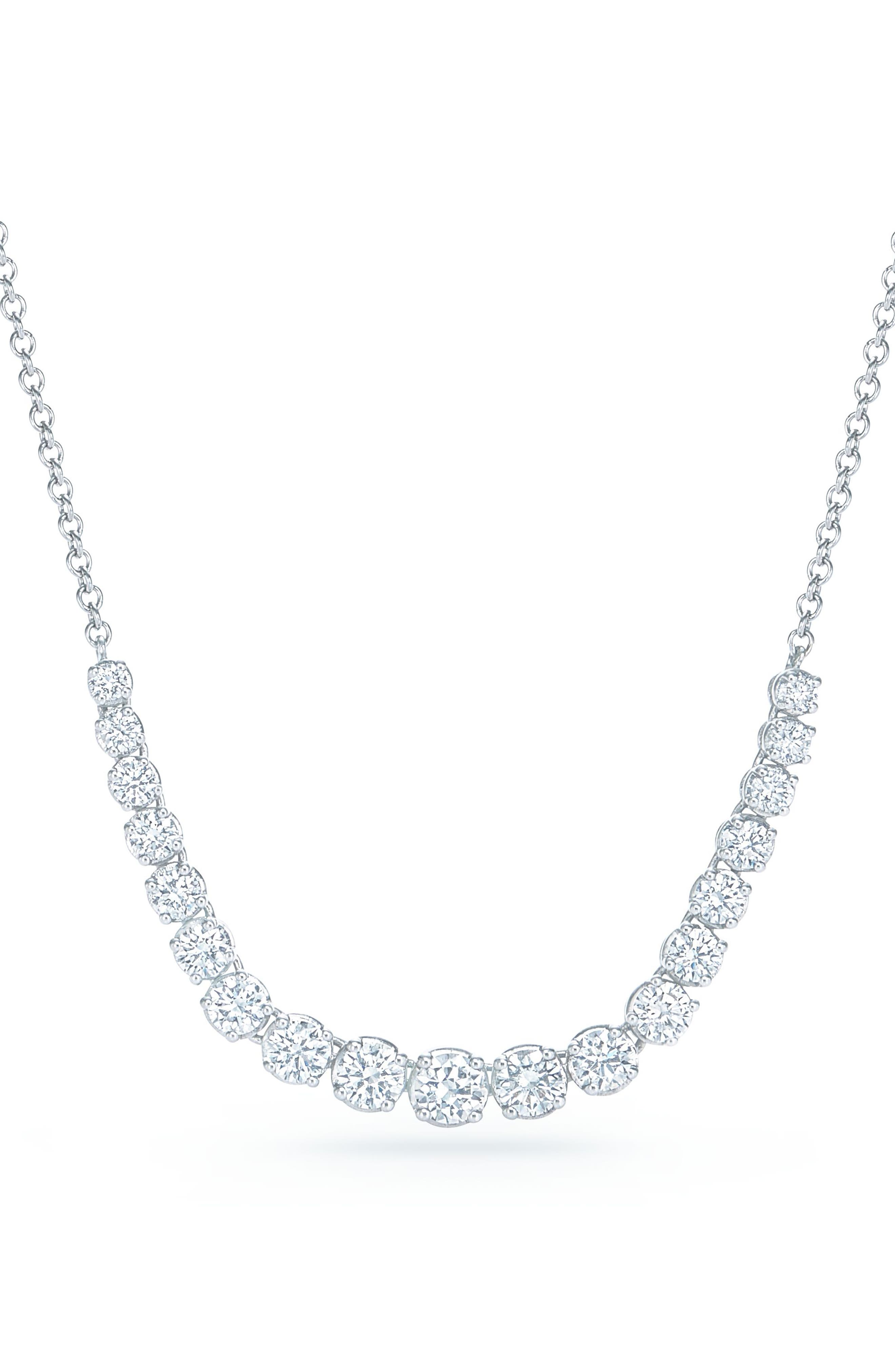 Kwiat Riviera Diamond Pendant Necklace