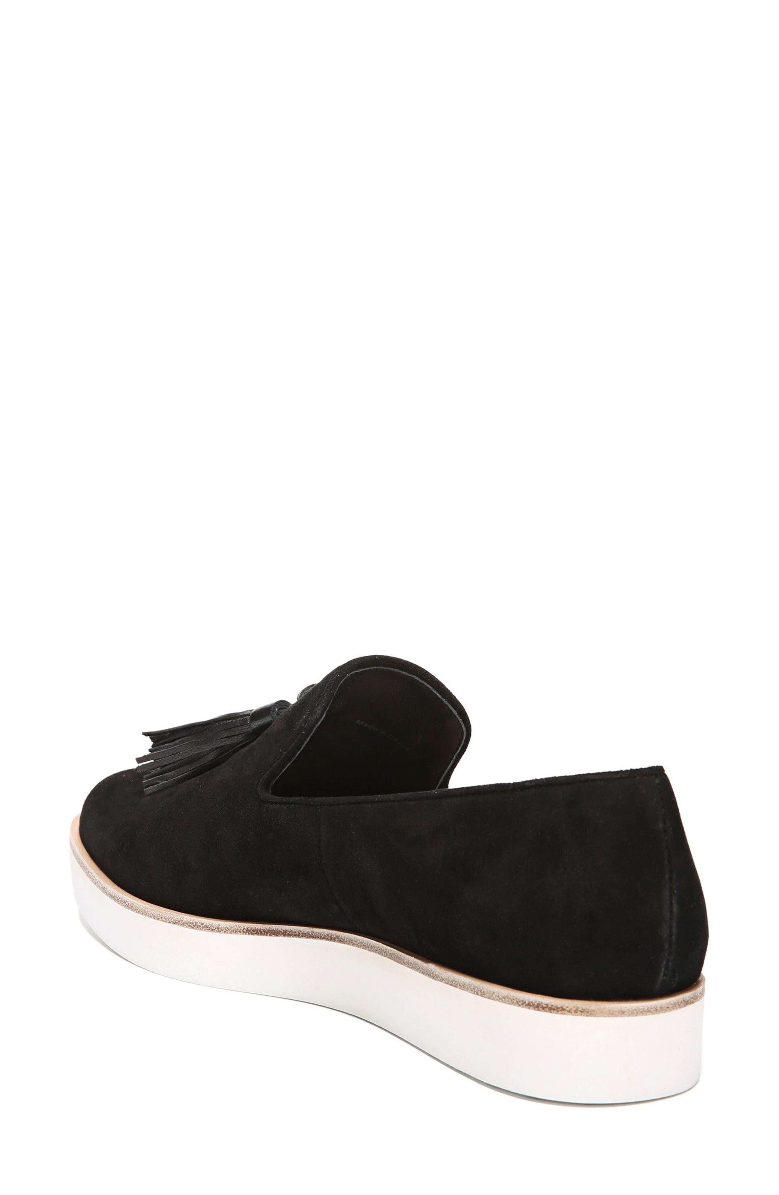 Toni Slip-On Sneaker,                             Alternate thumbnail 2, color,                             Black Suede