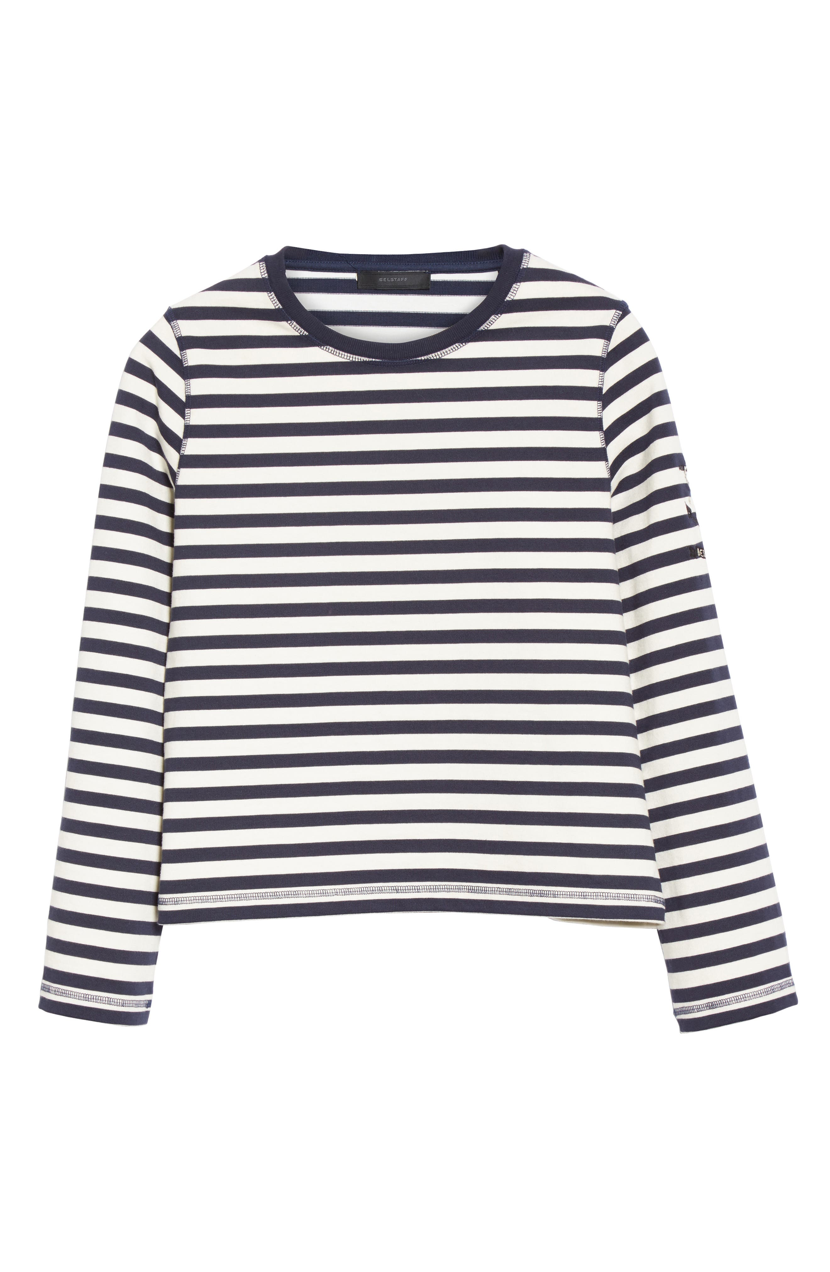 Alternate Image 4  - Belstaff Christina Stripe Cotton Sweater