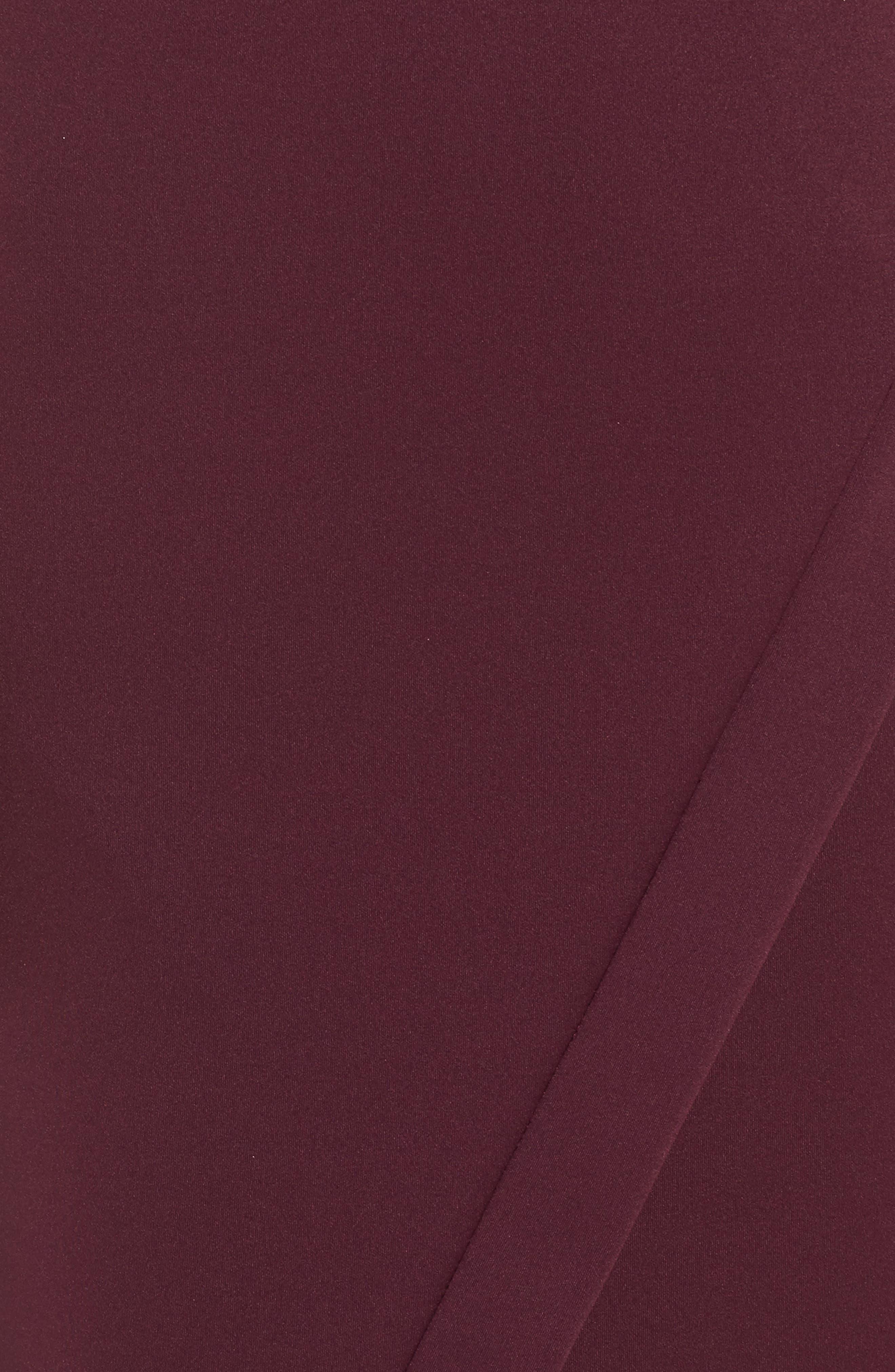 Alternate Image 5  - Maggy London Scissor Sheath Dress