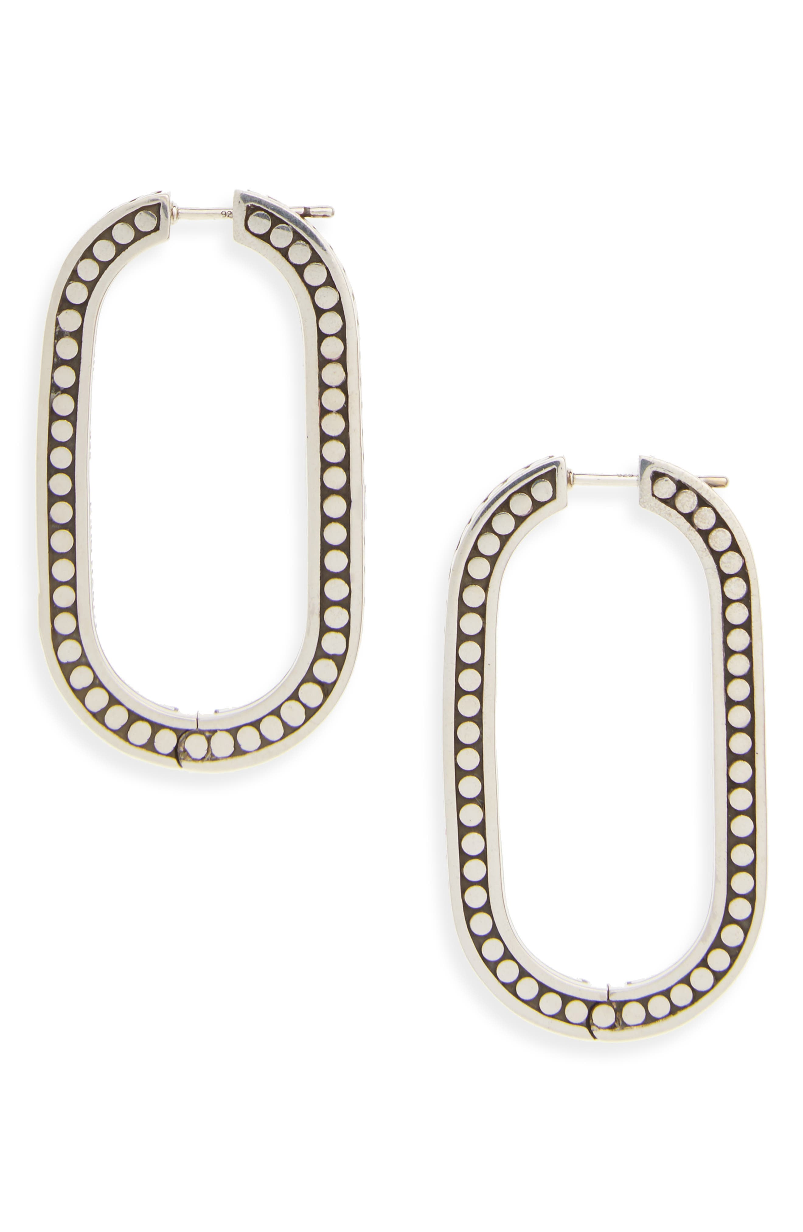 JOHN HARDY Dot Large Link Earrings
