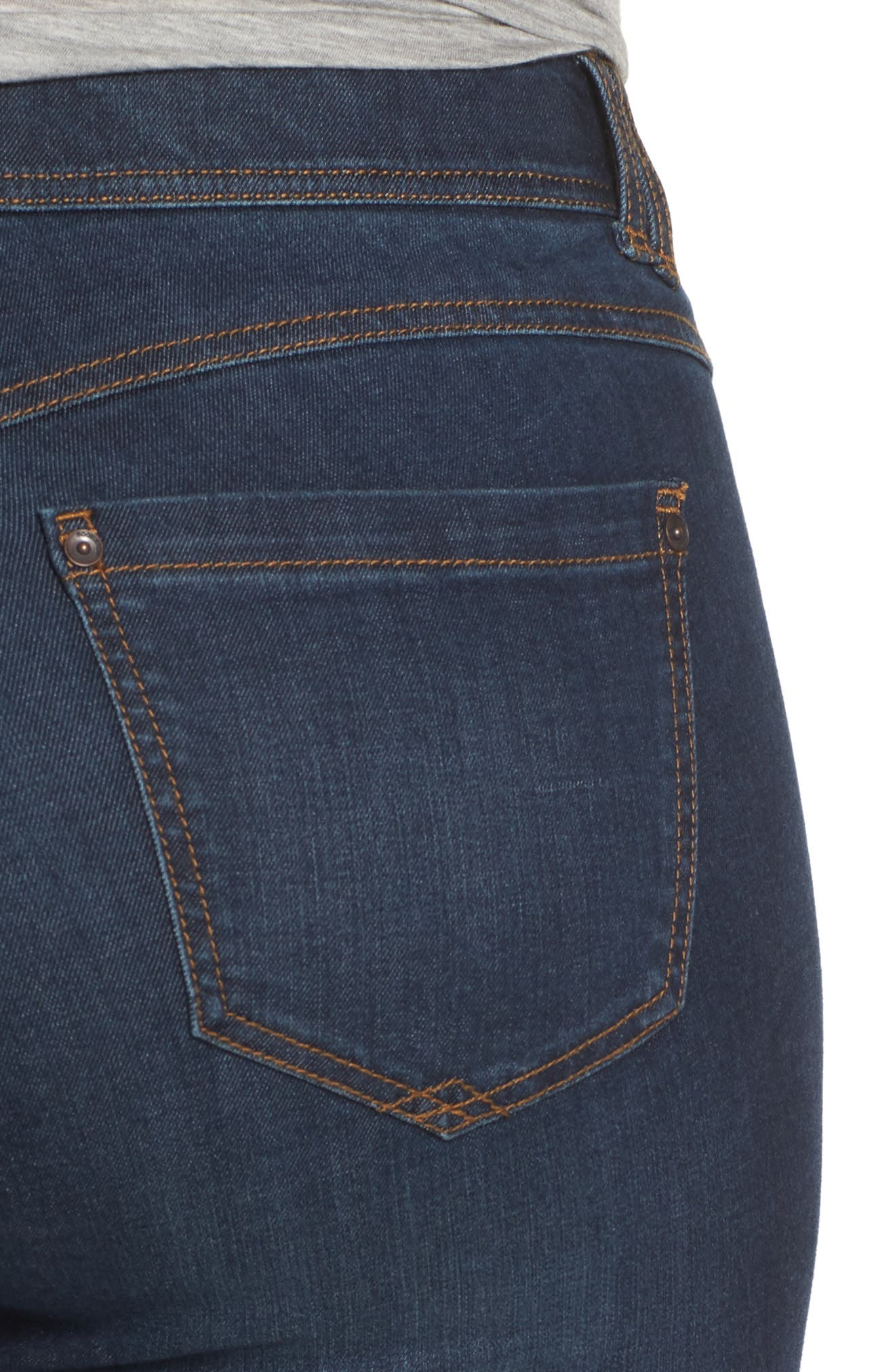 Alternate Image 4  - Wit & Wisdom Ab-solution Itty Bitty Bootcut Jeans (Plus Size) (Nordstrom Exclusive)