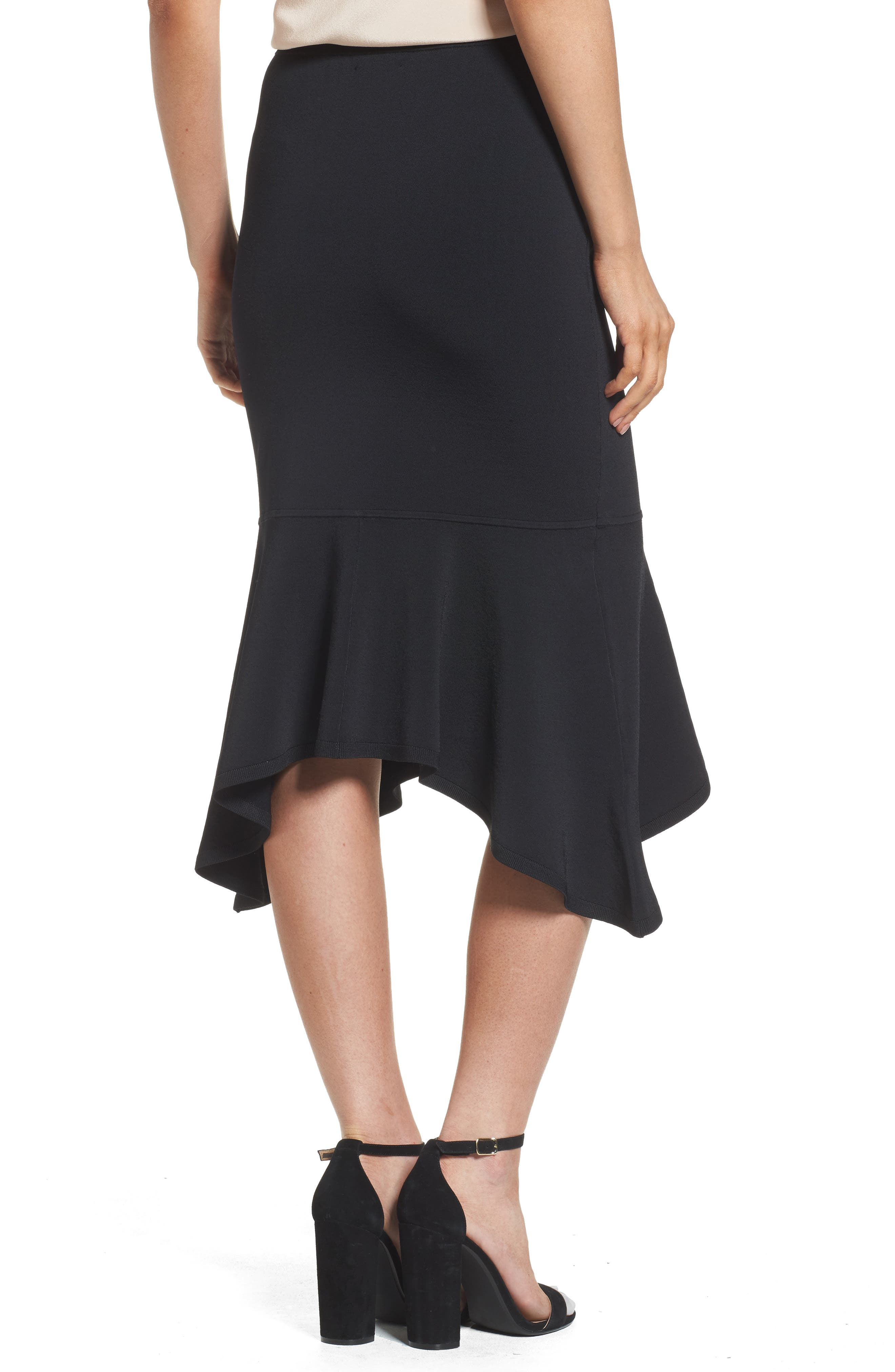 Alternate Image 2  - Trouvé Asymmetrical Midi Skirt