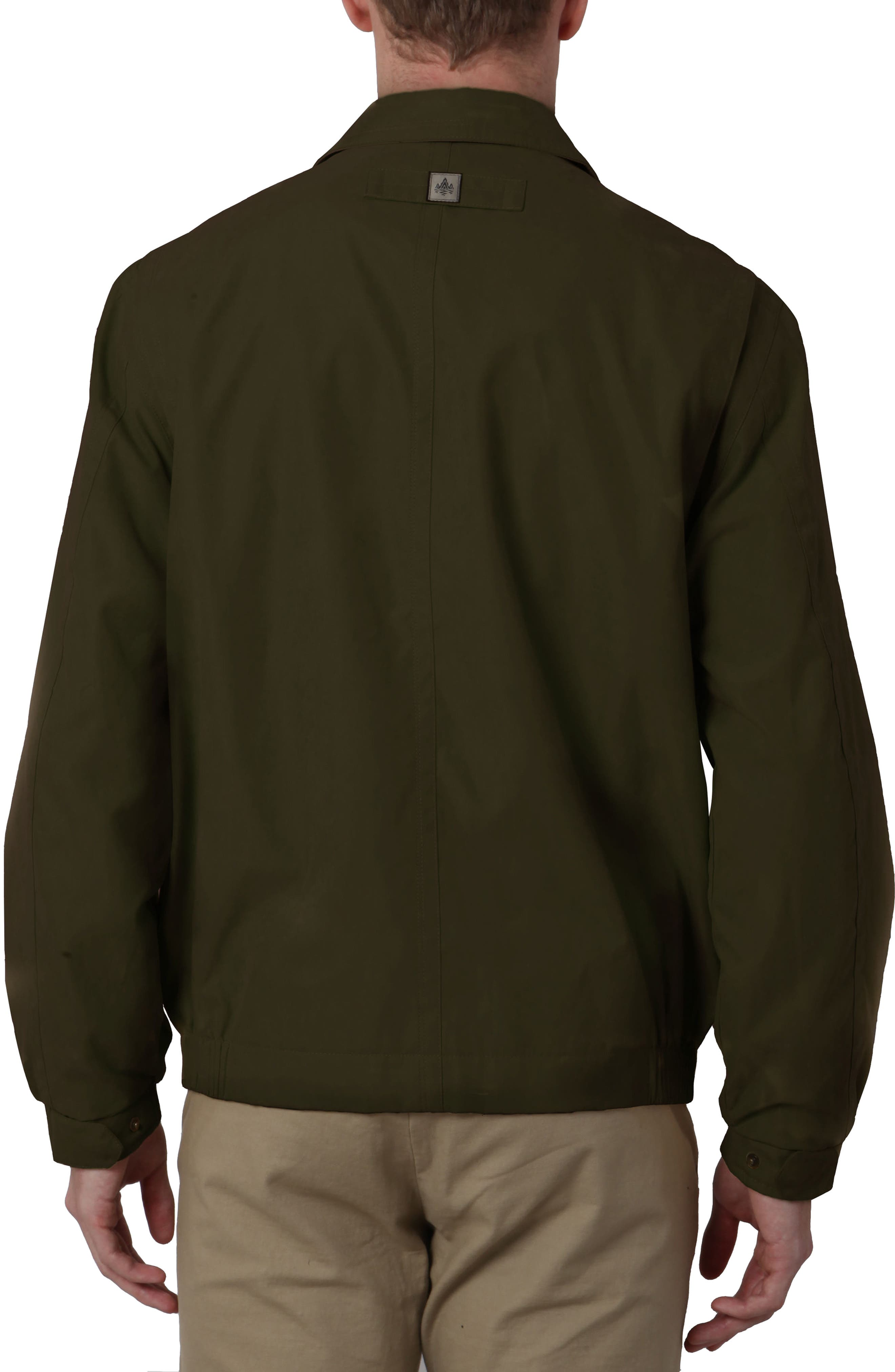 'Microseta' Lightweight Golf Jacket,                             Alternate thumbnail 2, color,                             Oregano