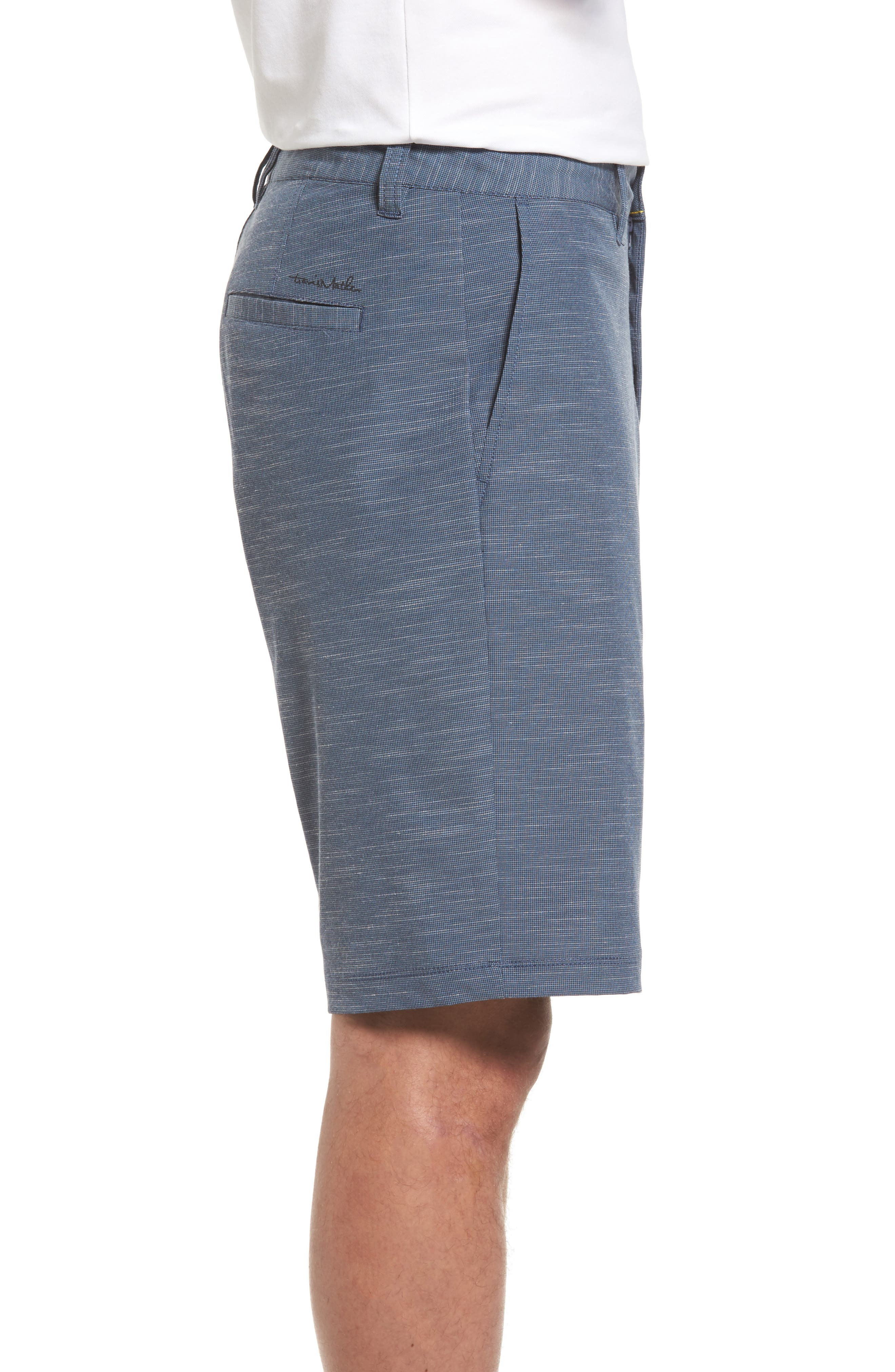 Fisher Shorts,                             Alternate thumbnail 3, color,                             Heather Blue Nights
