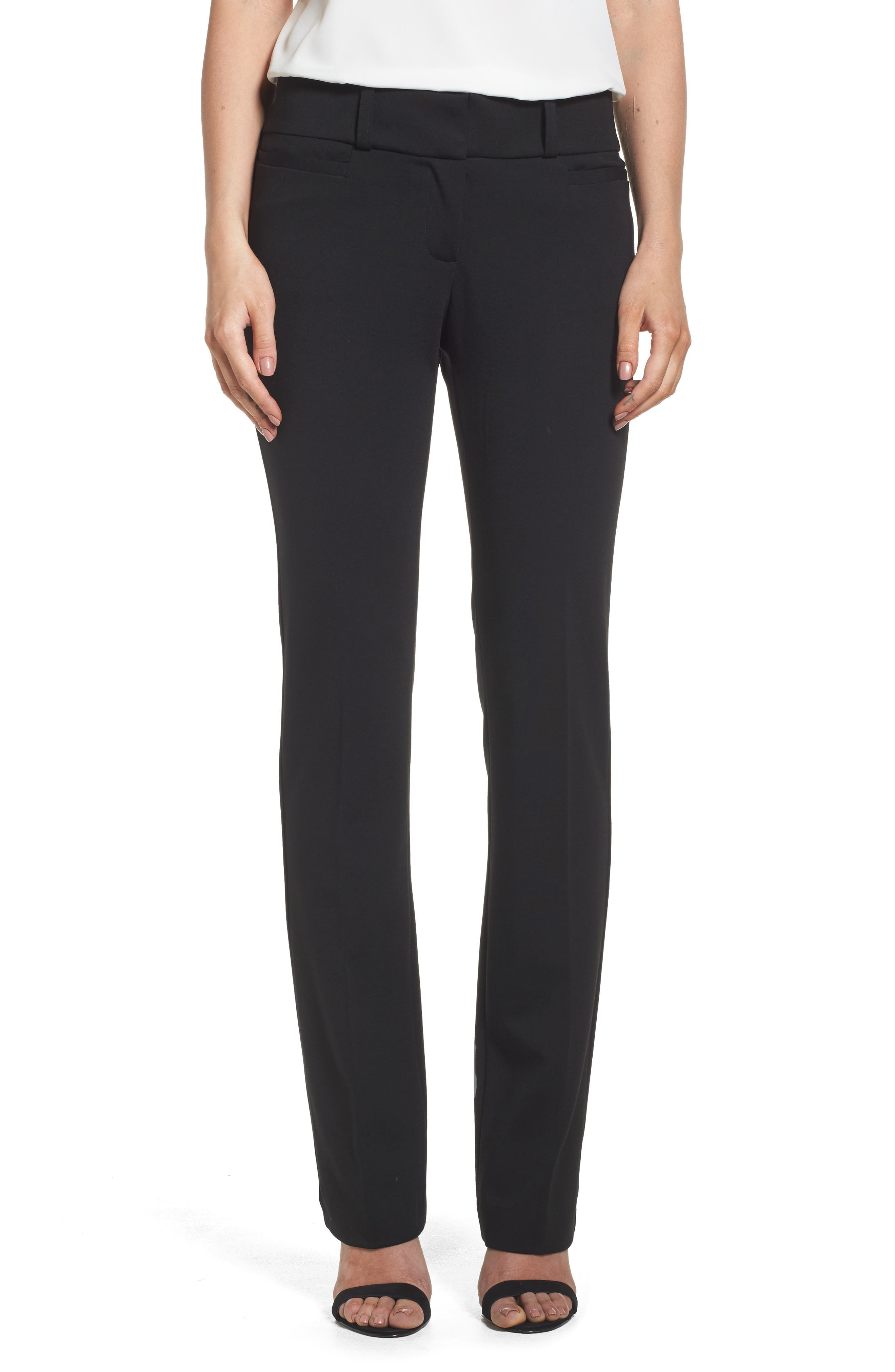 Jane Brown Trousers,                         Main,                         color, Black