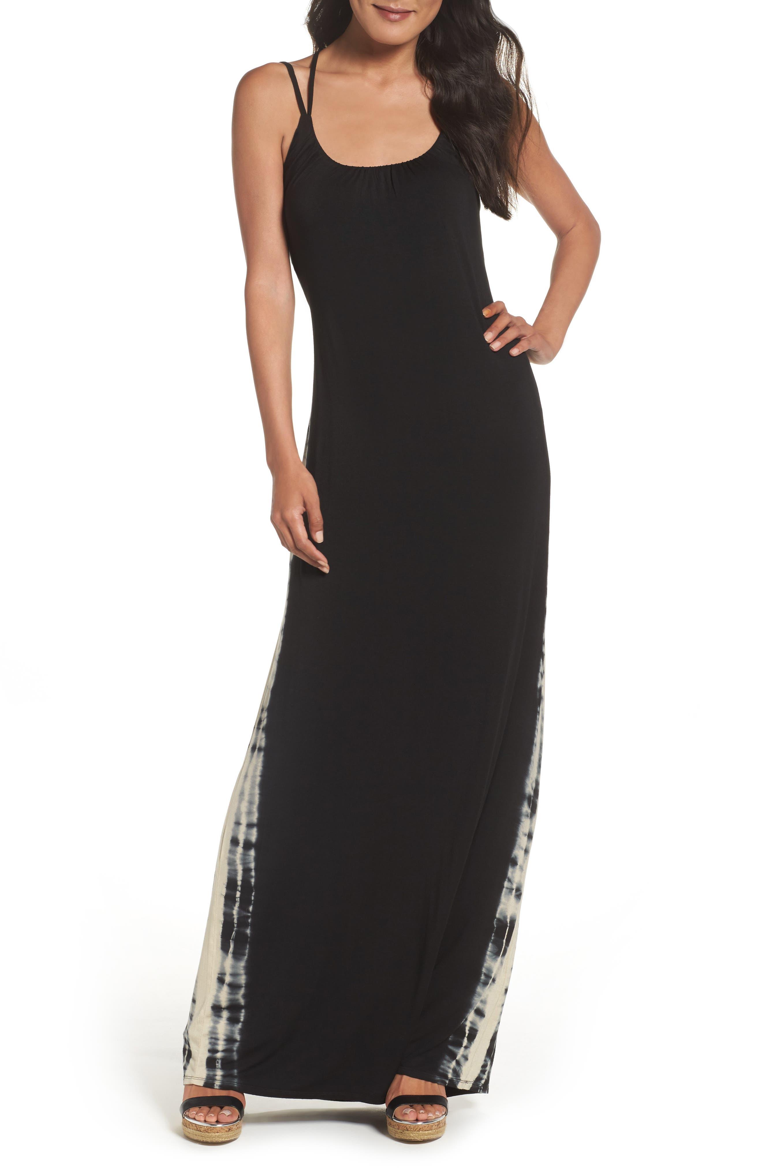 Felicity & Coco Tie Dye Maxi Dress (Nordstrom Exclusive)