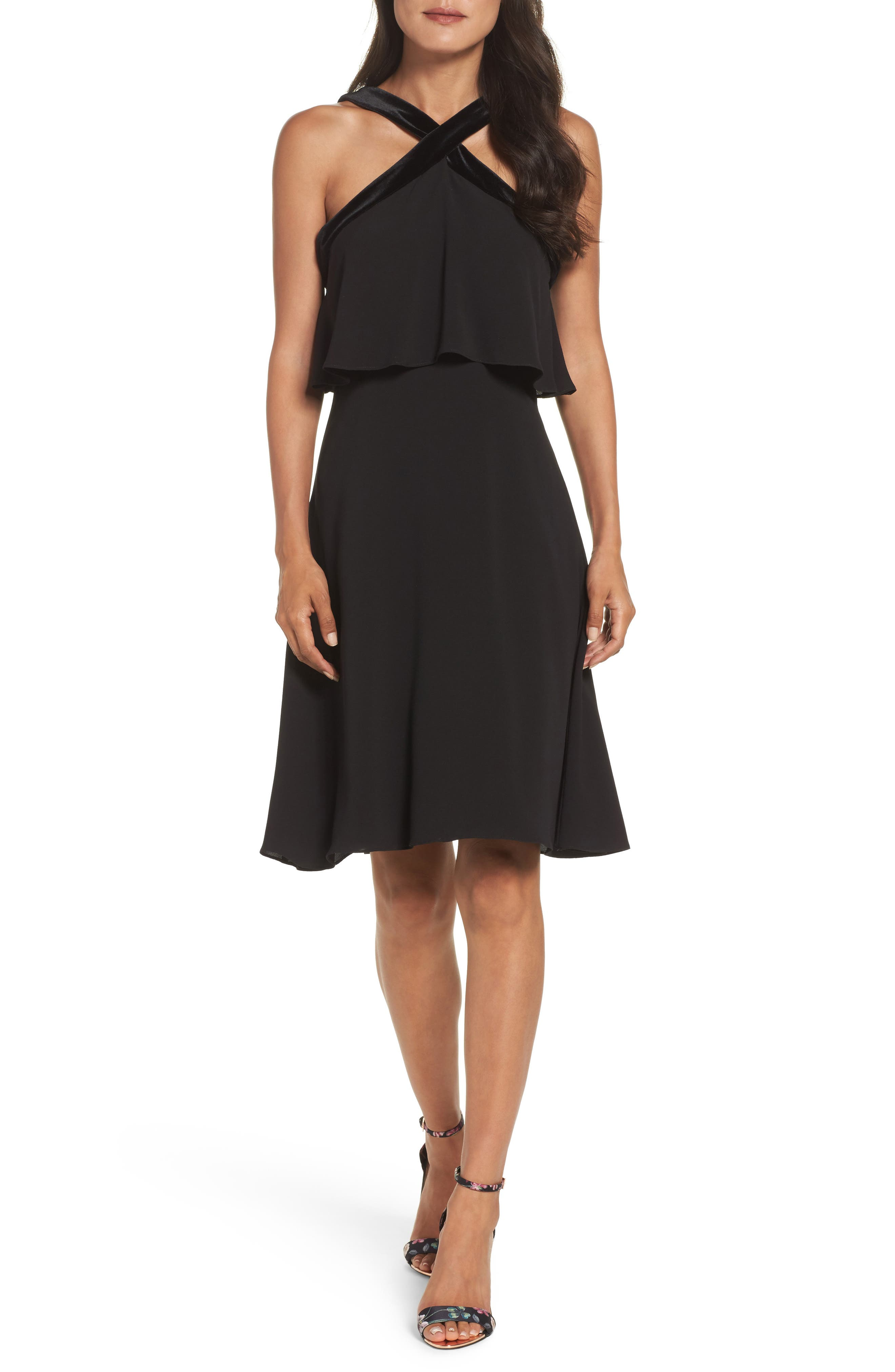 Alternate Image 1 Selected - Maggy London Catalina Popover Dress