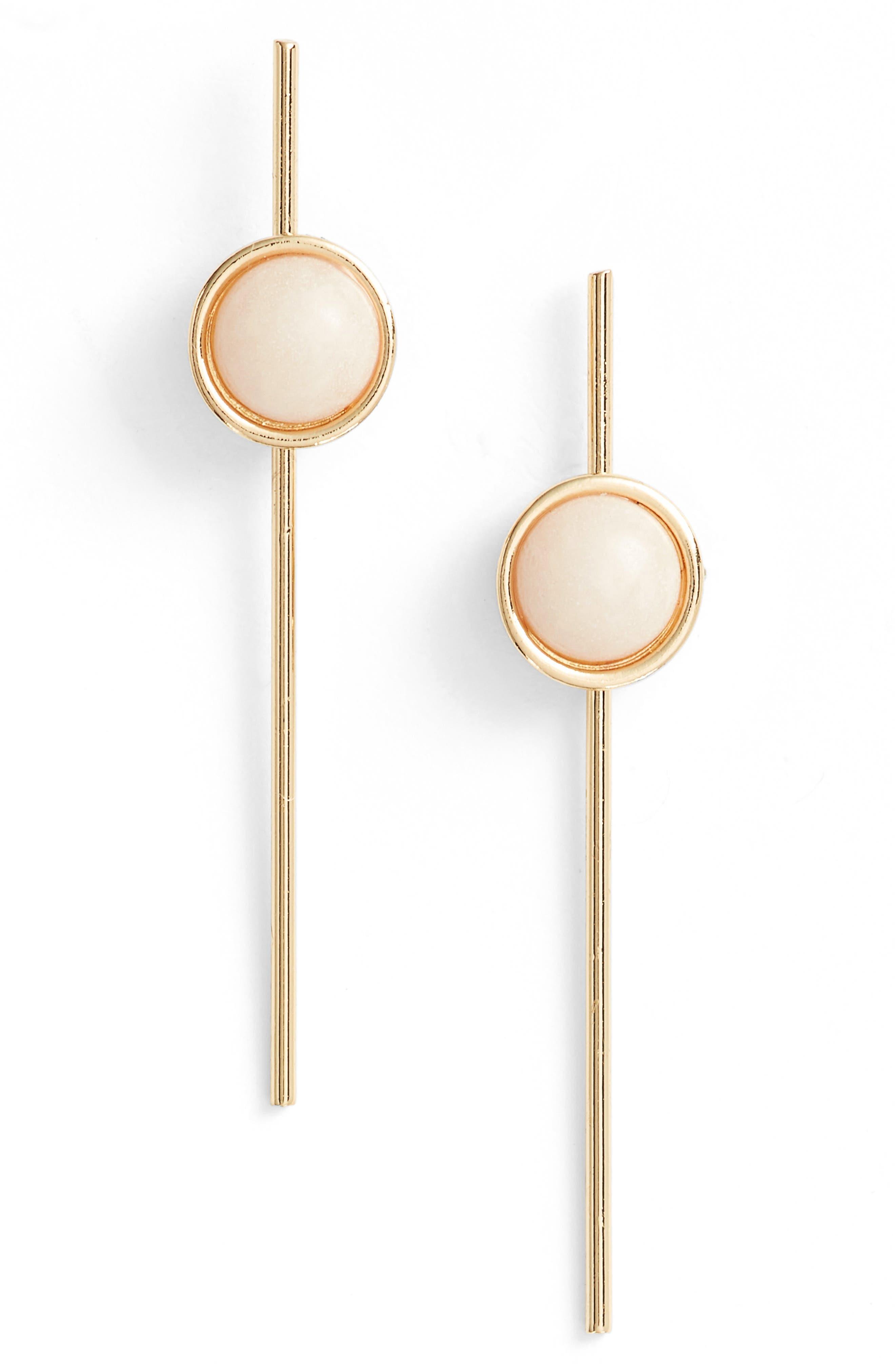 Main Image - Ettika Stone Bar Earrings