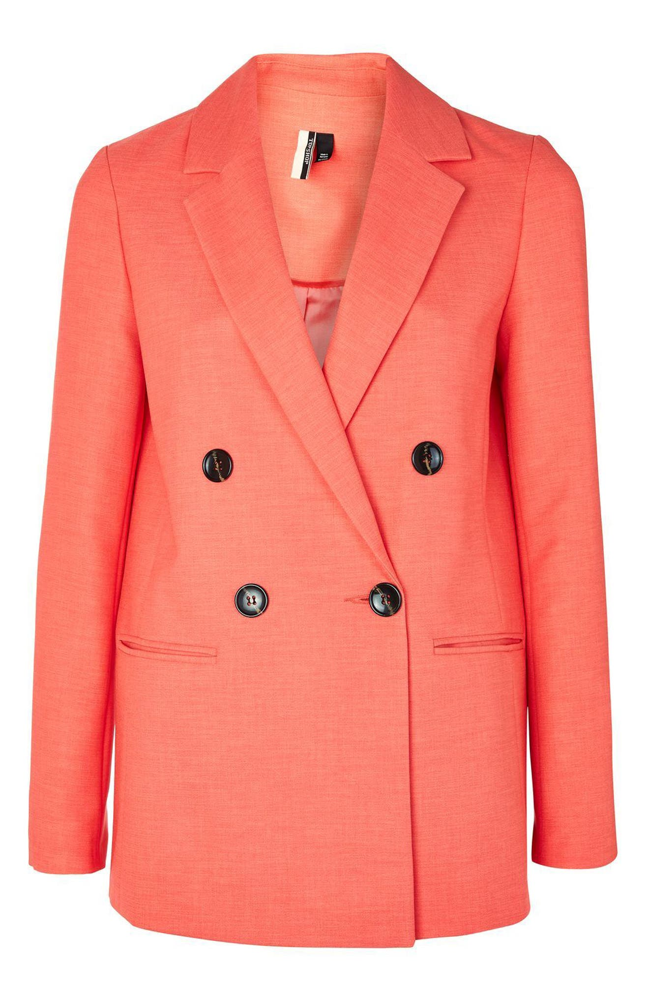 Alternate Image 4  - Topshop Ella Double Breasted Suit Jacket