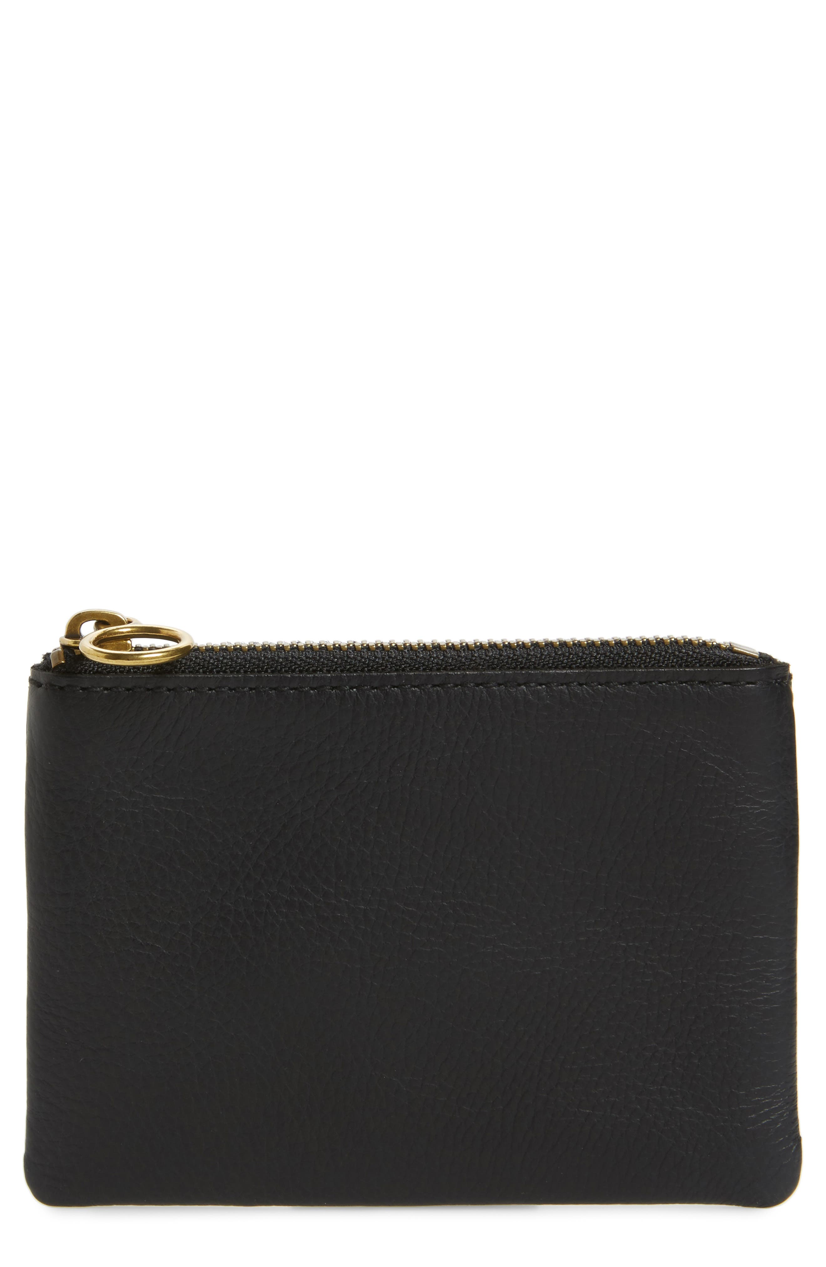 Alternate Image 1 Selected - Madewell The Leather Pouch Wallet