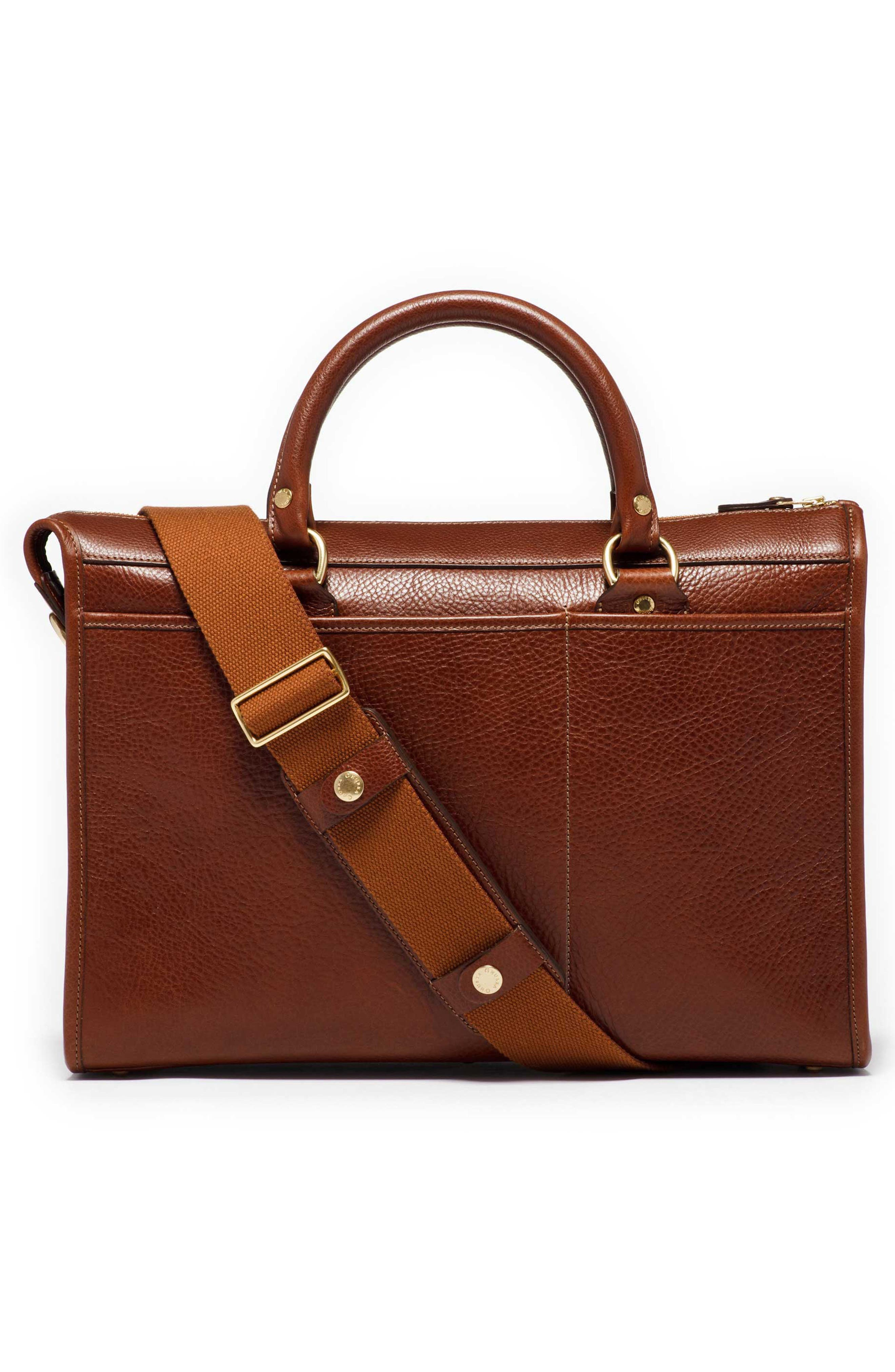 Alternate Image 2  - Ghurka 'Examiner' Leather Briefcase