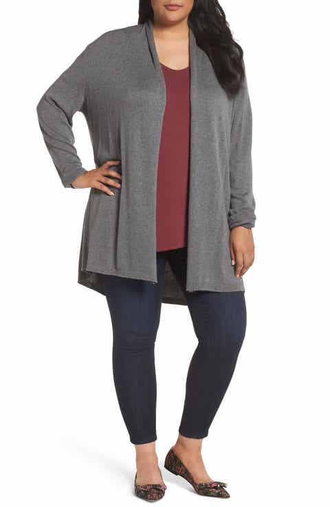 Plus-Size Sweaters: Pullovers, Cardigans & More | Nordstrom ...