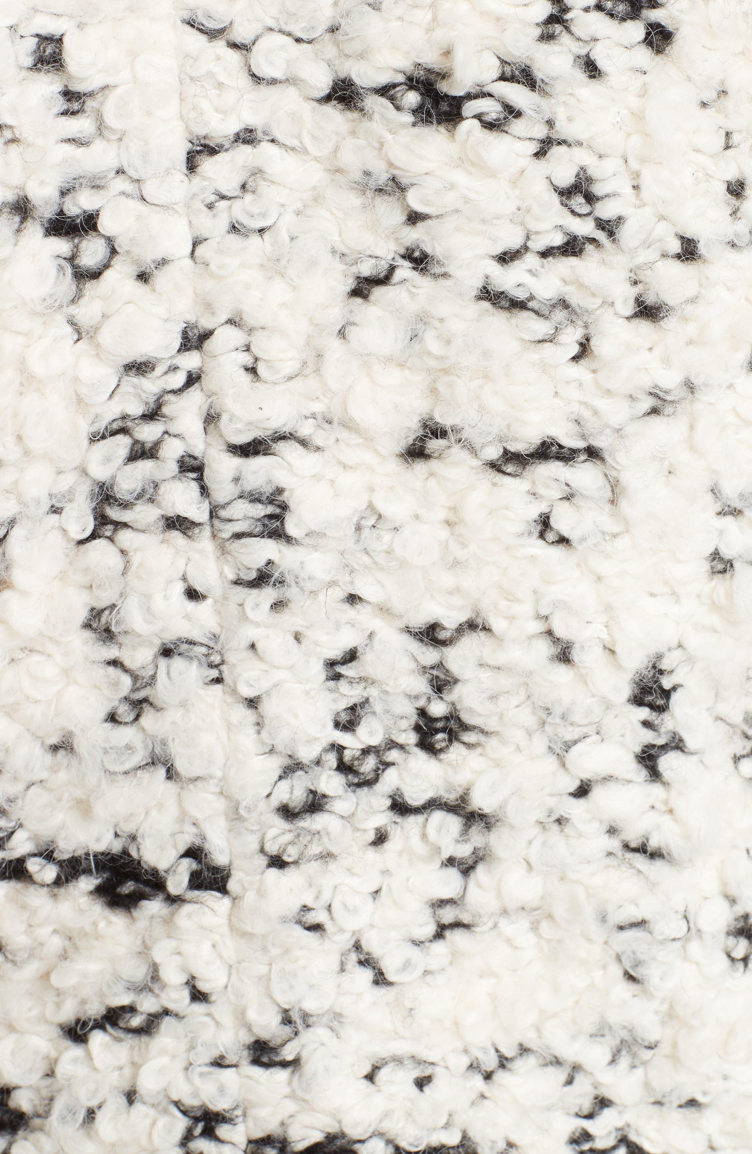 Alternate Image 5  - A.W.A.K.E. Textured Mock Neck Sweater