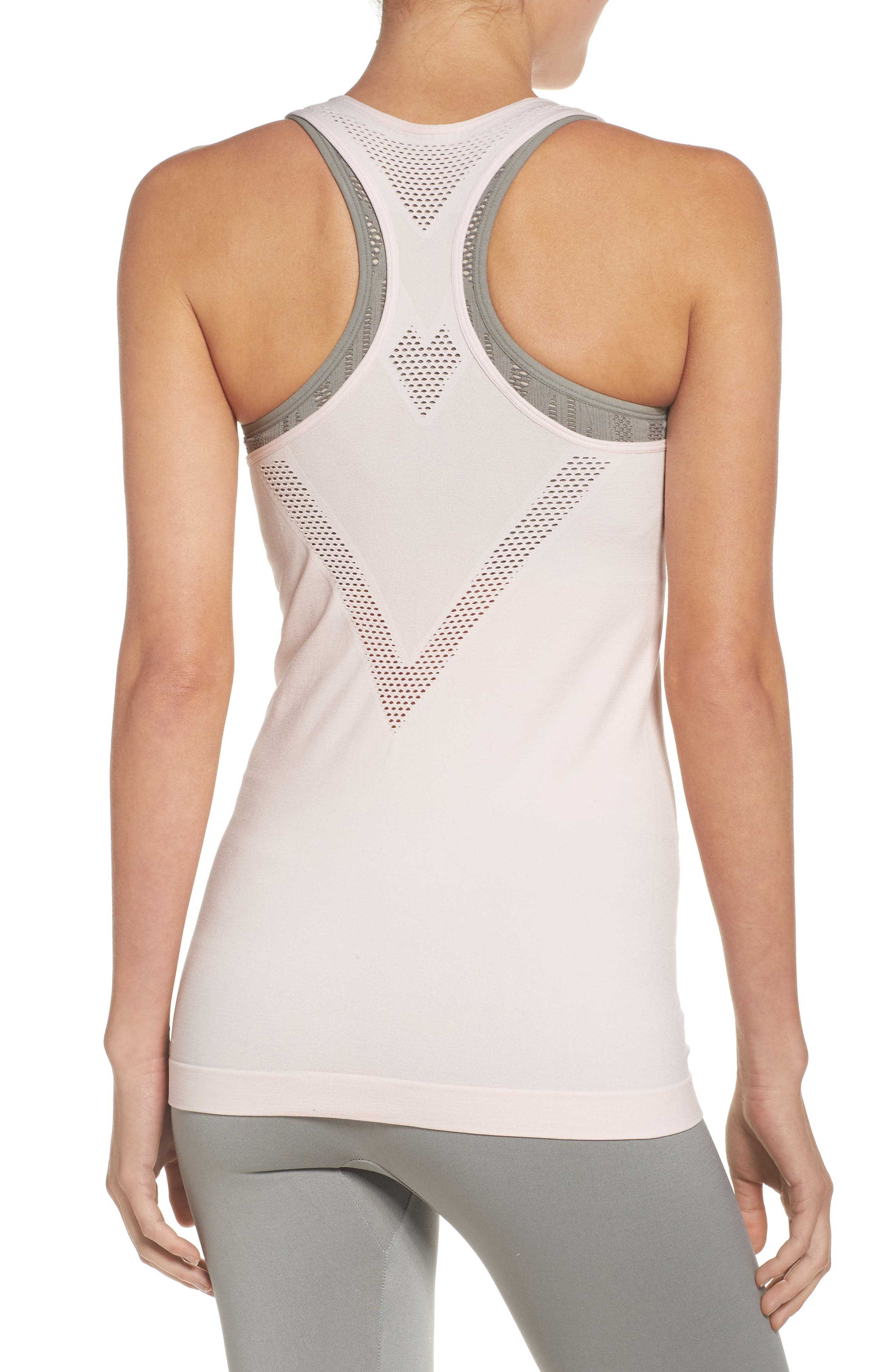 Perf Perfection Singlet,                             Alternate thumbnail 2, color,                             Crystal Pink