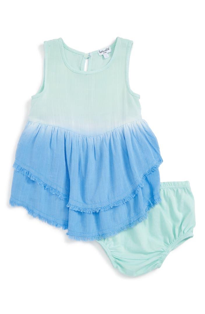 Splendid sleeveless dip dye dress baby girls nordstrom for Splendid infant