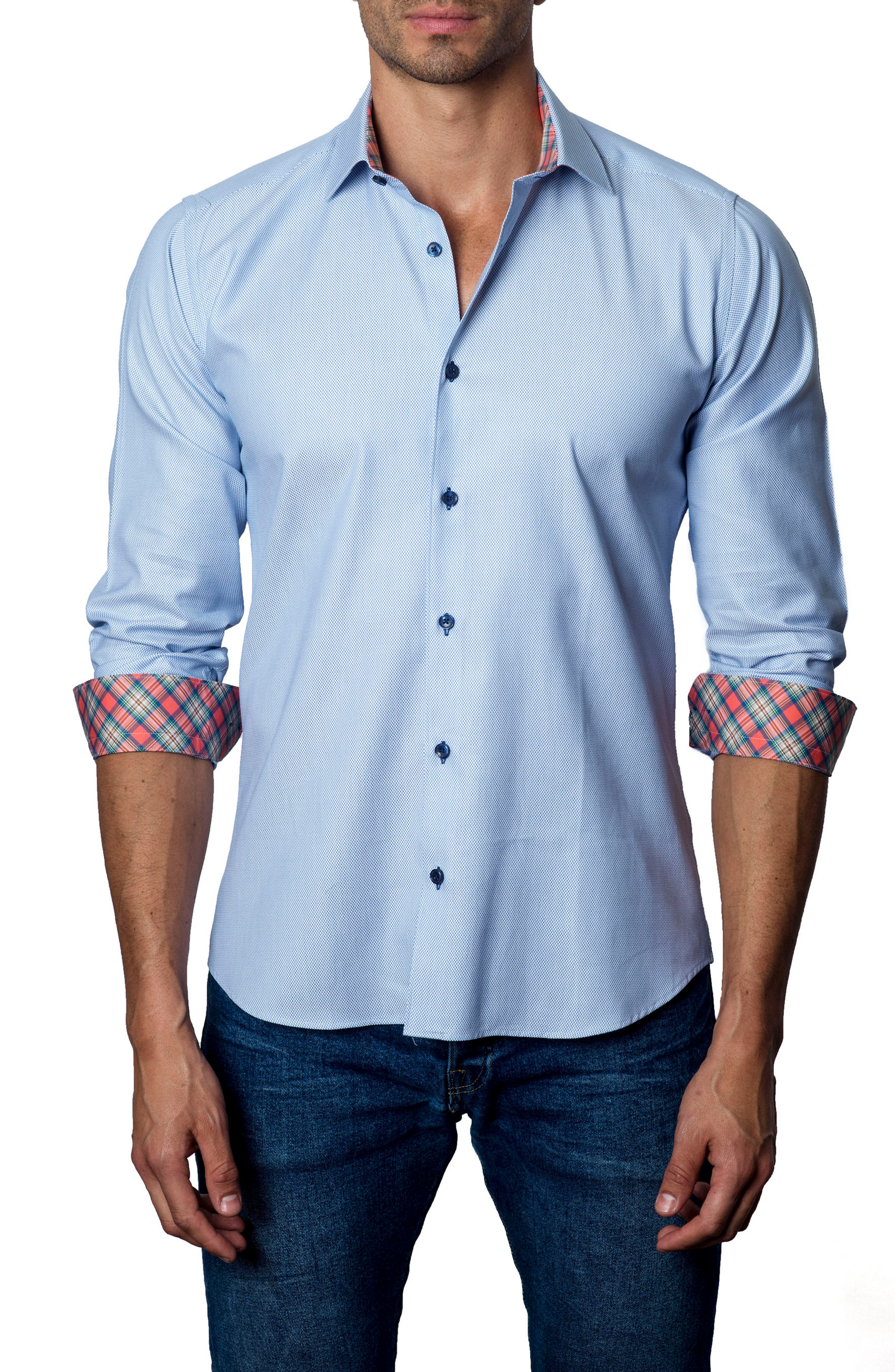 Main Image - Jared Lang Trim Fit Sport Shirt
