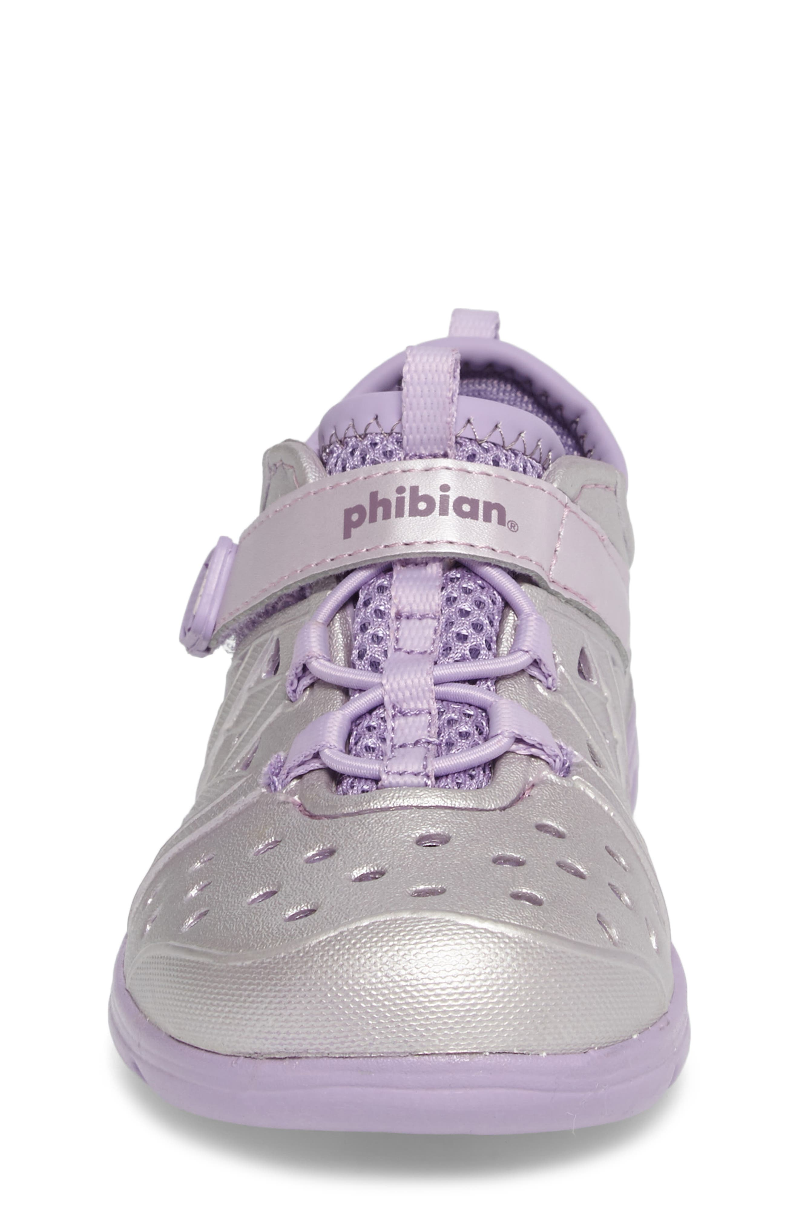 Made2Play<sup>®</sup> Phibian Sneaker,                             Alternate thumbnail 4, color,                             Purple Metallic