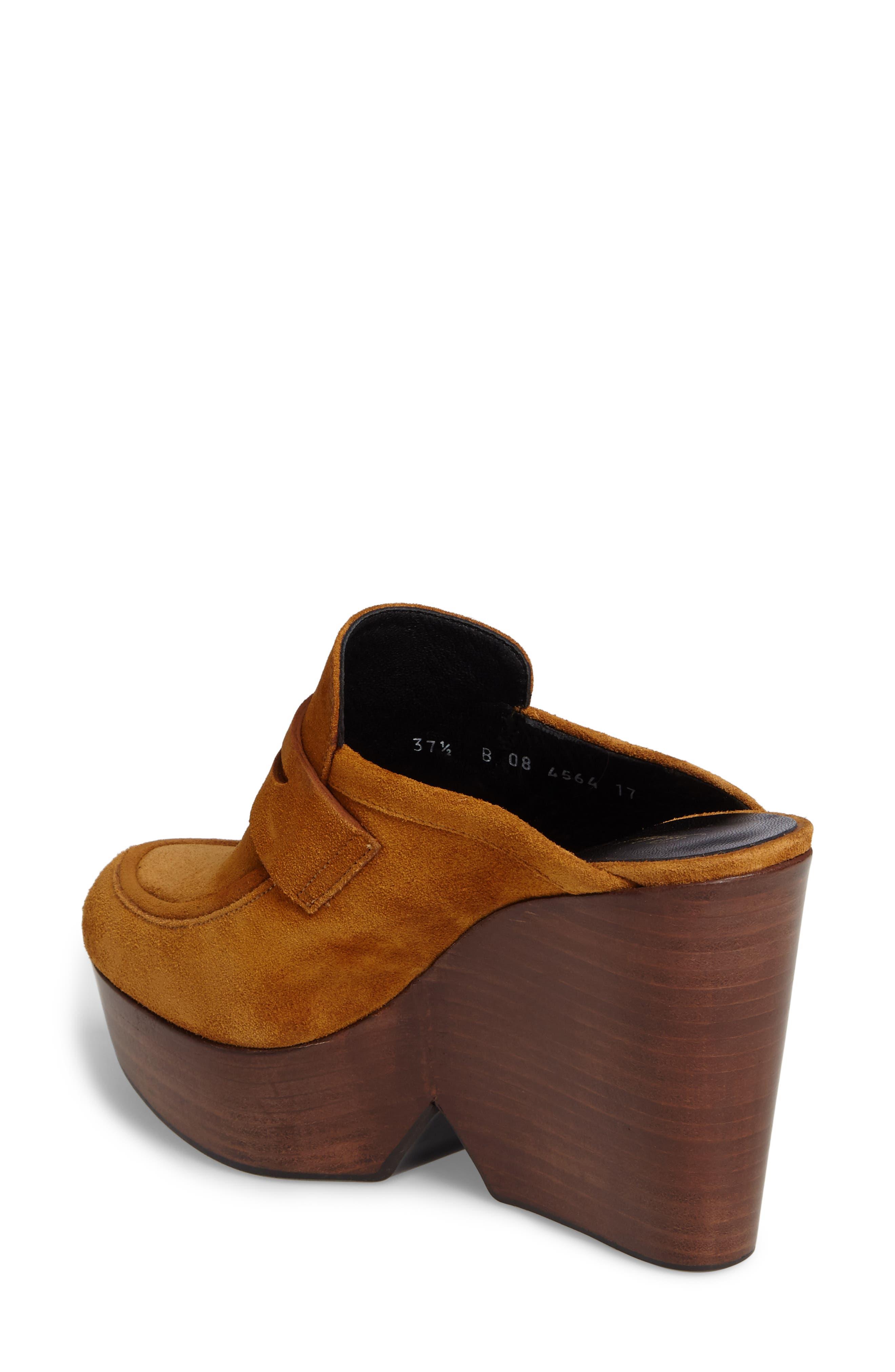 Alternate Image 2  - Robert Clergerie Damor Platform Loafer Mule (Women)