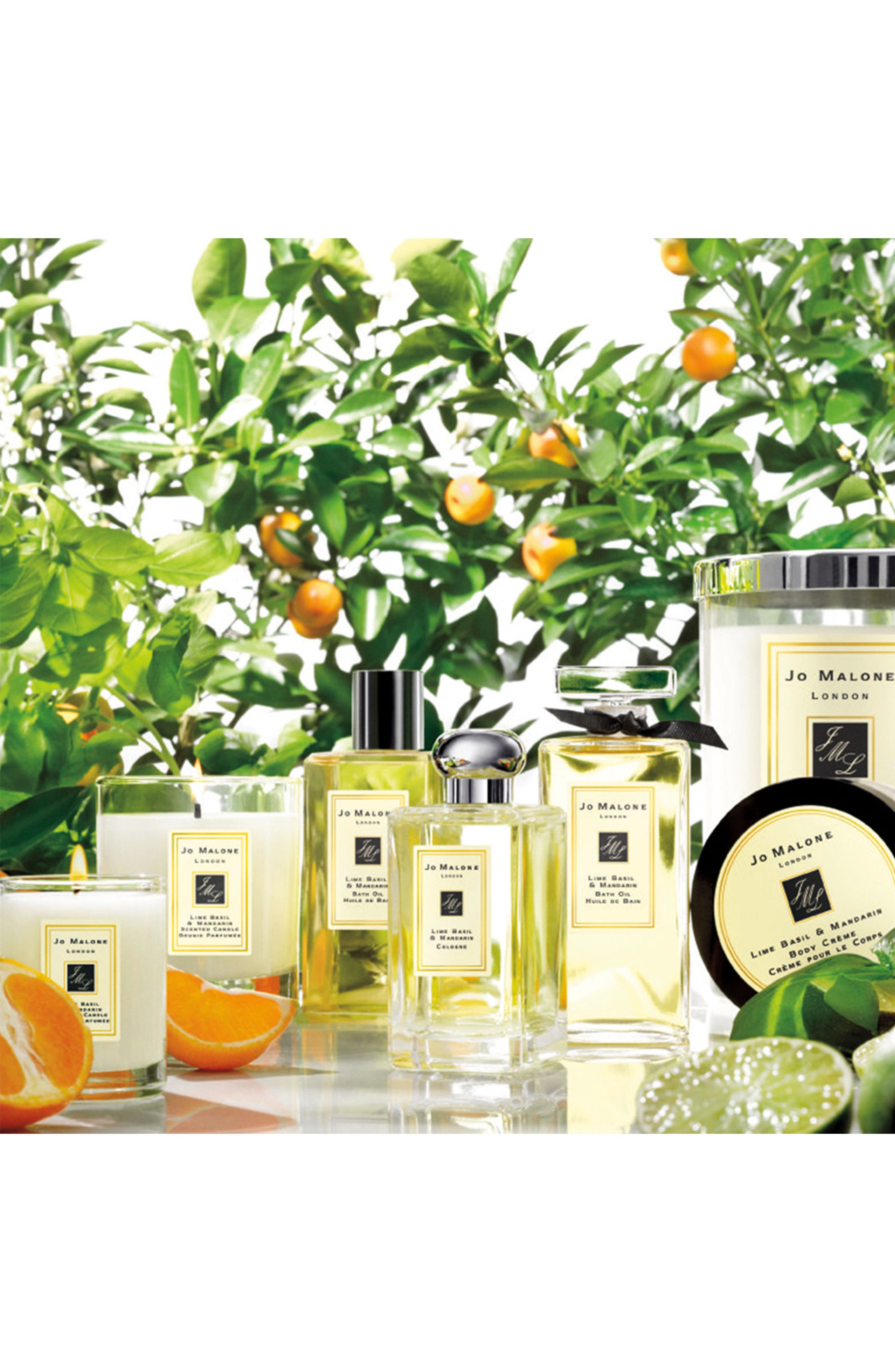 Jo Malone<sup>™</sup> 'Lime Basil & Mandarin' Luxury Candle,                             Alternate thumbnail 2, color,                             No Color