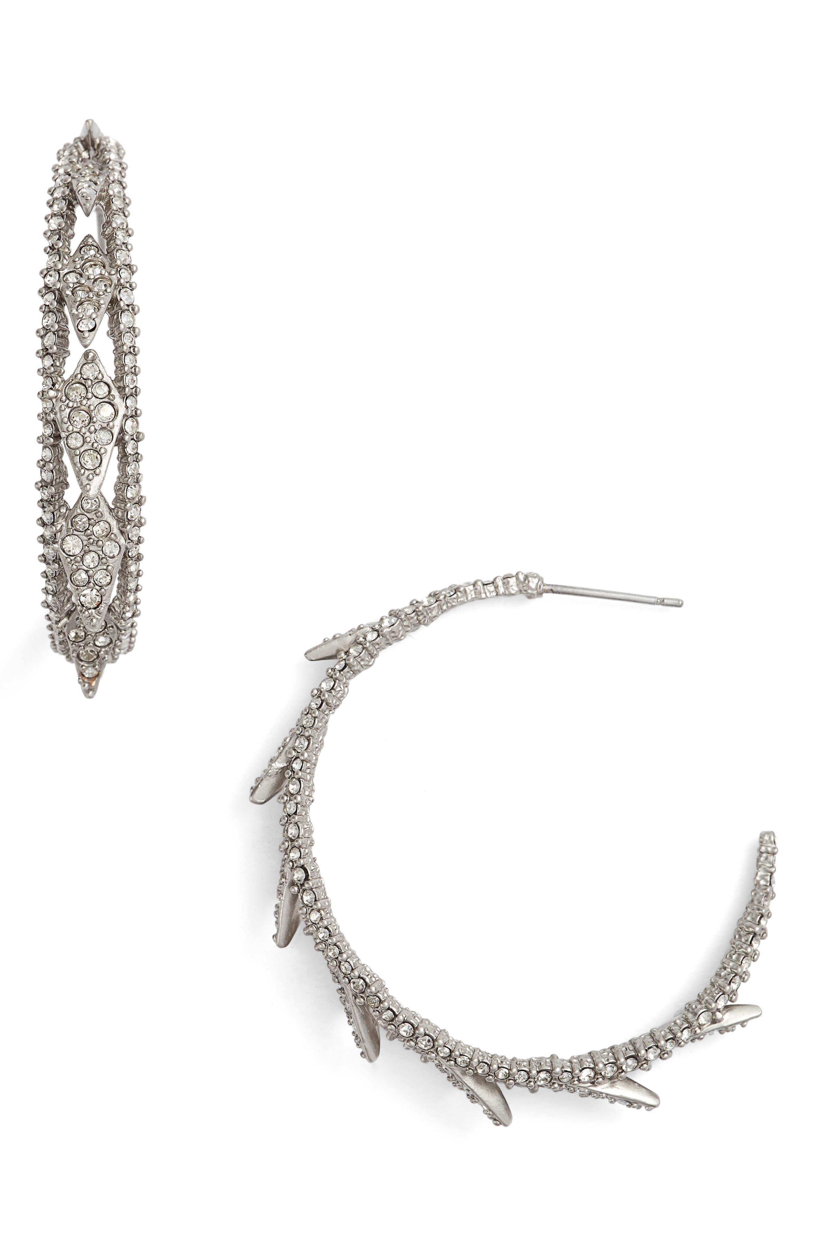 Alternate Image 1 Selected - Alexis Bittar Crystal Encrusted Hook Earrings