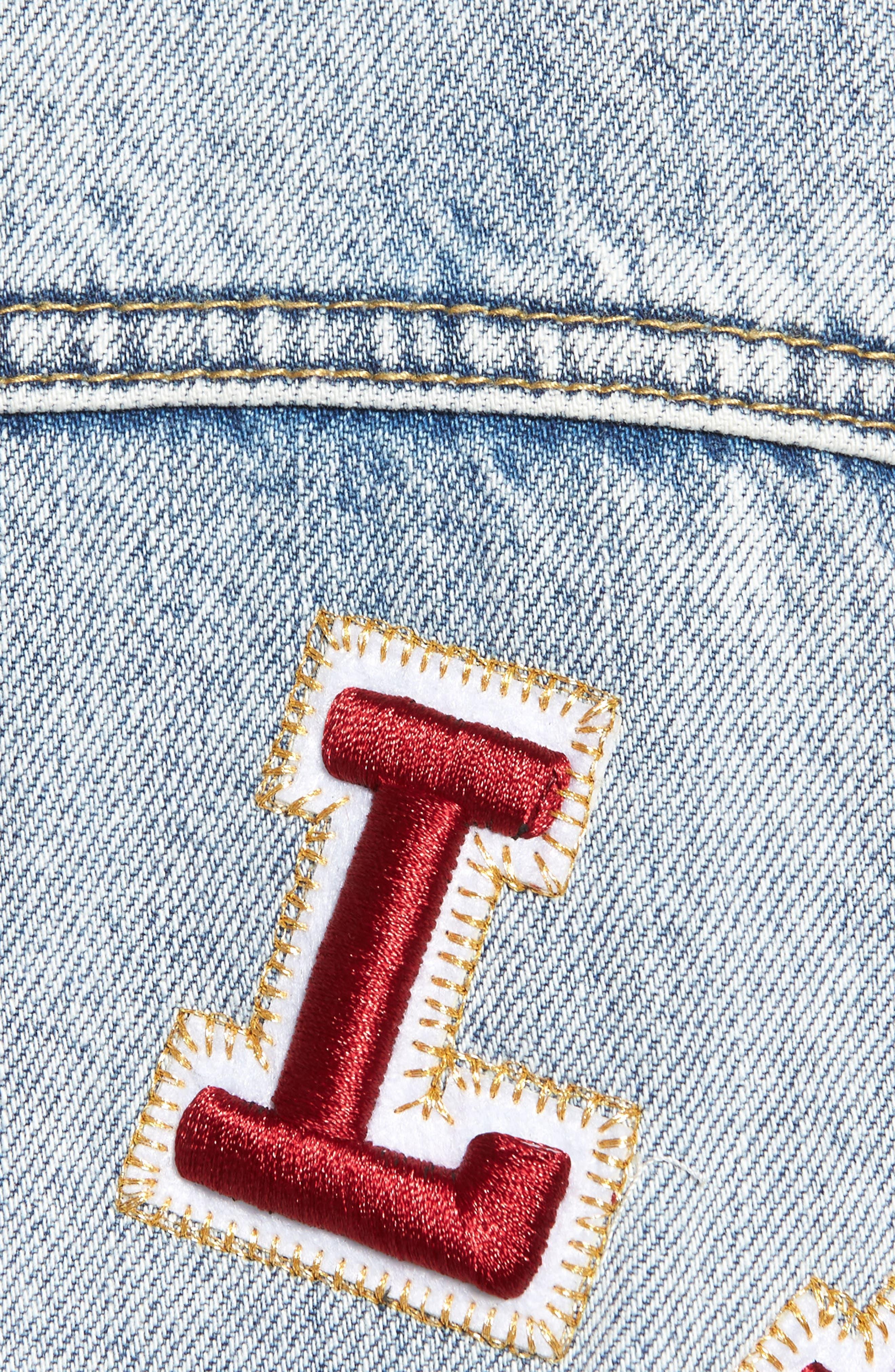 Alternate Image 5  - True Religion Brand Jeans Denim Trucker Jacket