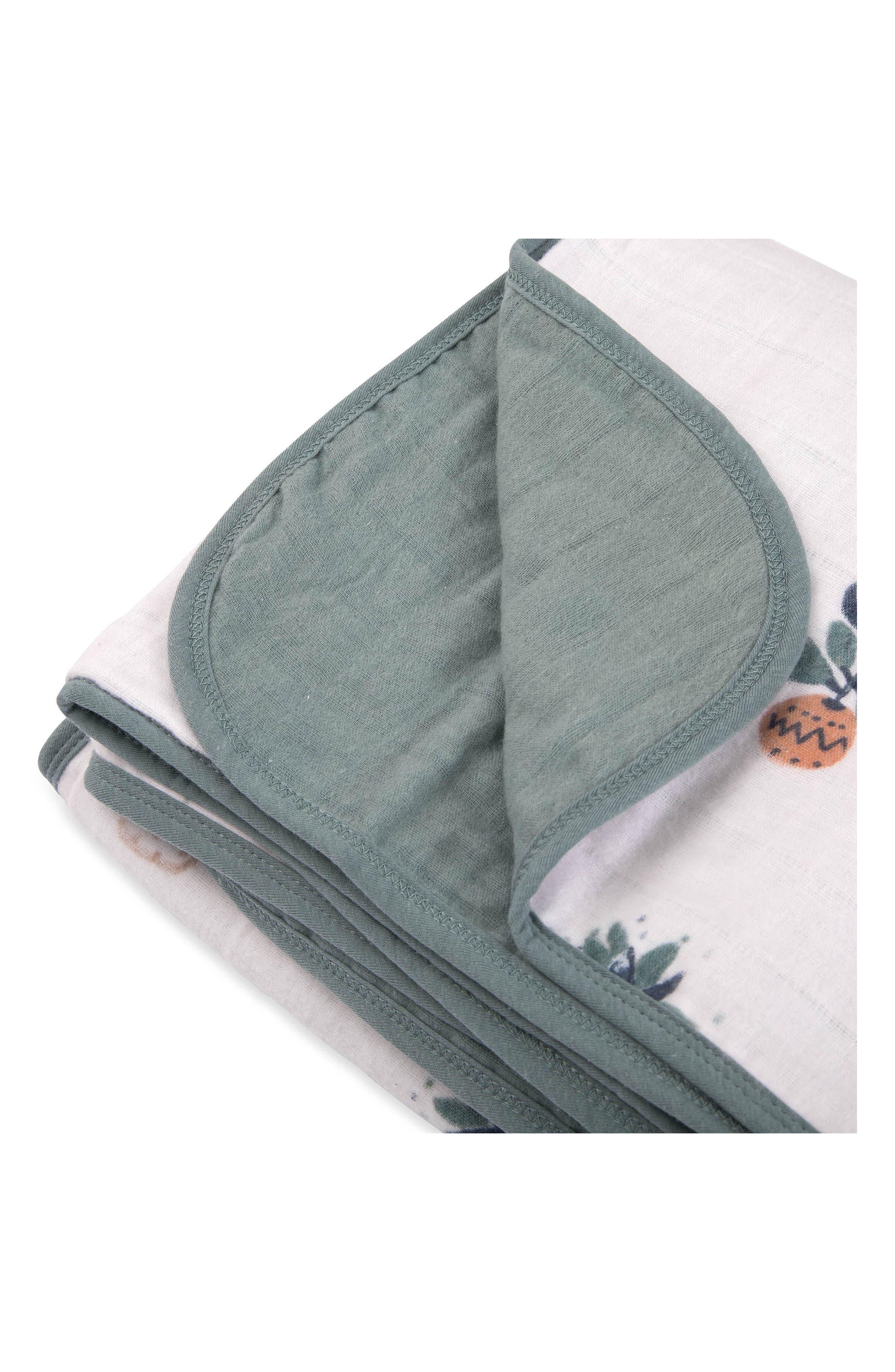 Alternate Image 2  - little unicorn Brushed Cotton Muslin Quilt