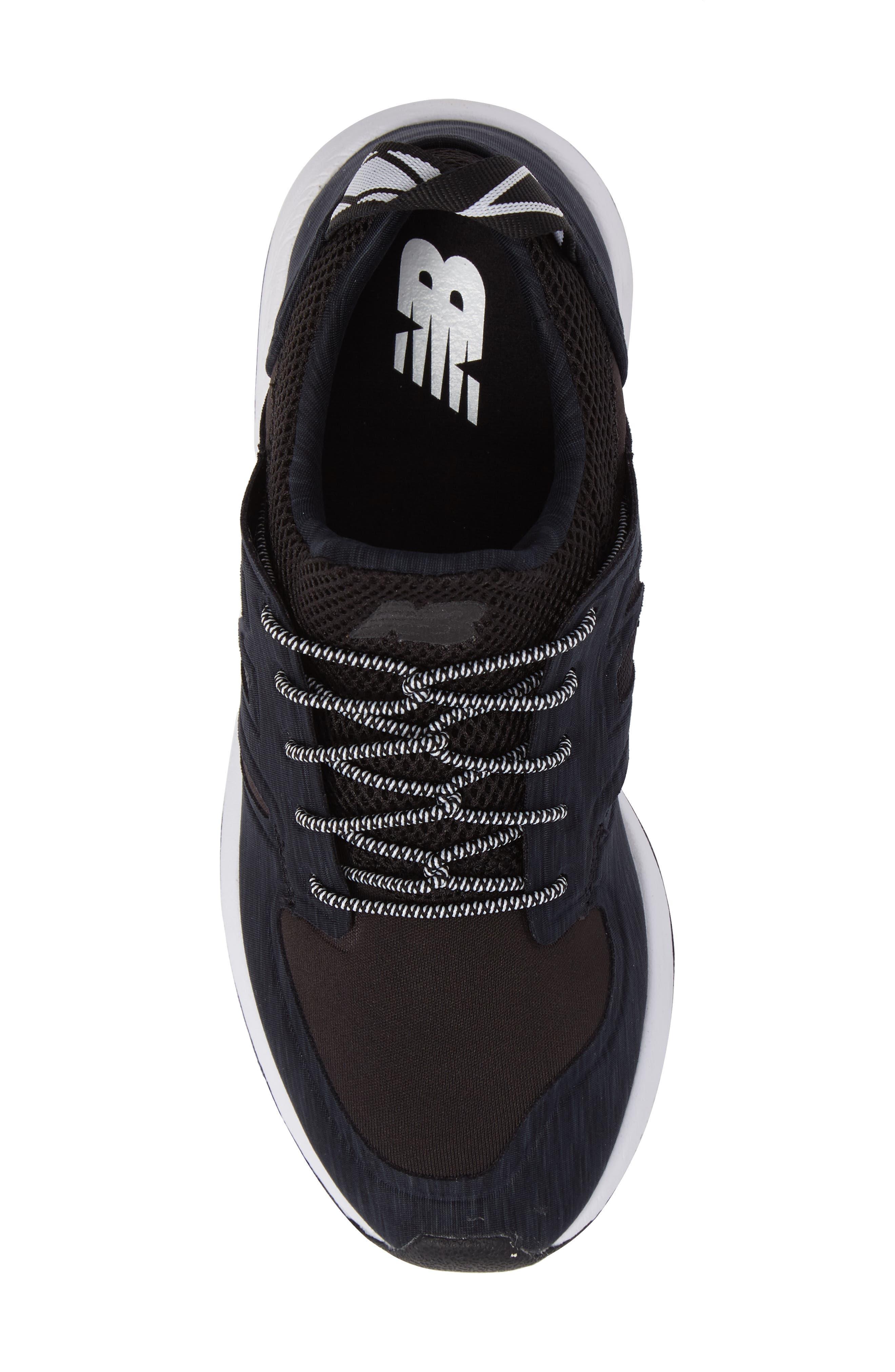 Sporty Style 420 Sneaker,                             Alternate thumbnail 5, color,                             Black