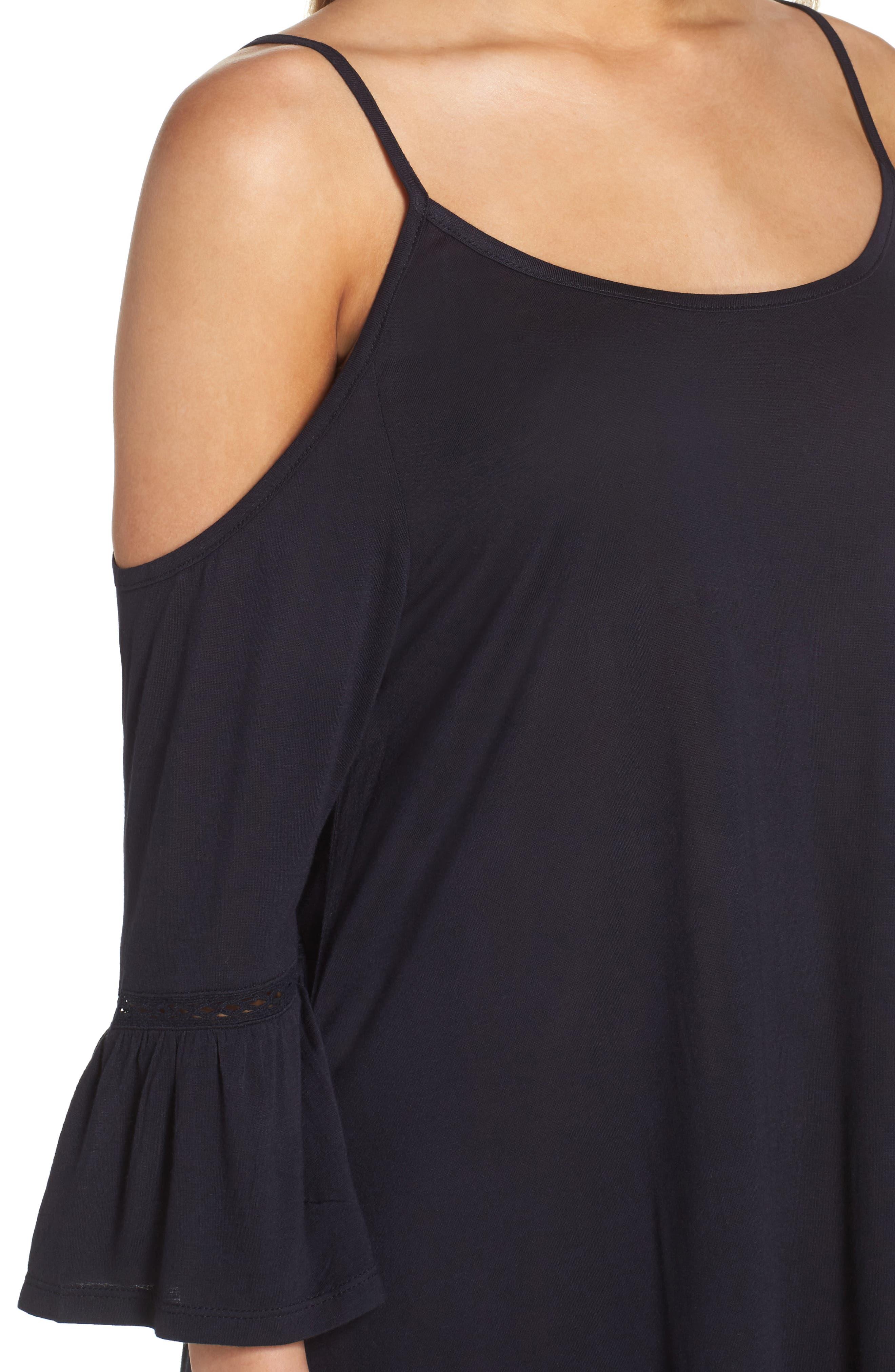 Alternate Image 4  - Leith Cold Shoulder Cover-Up Dress