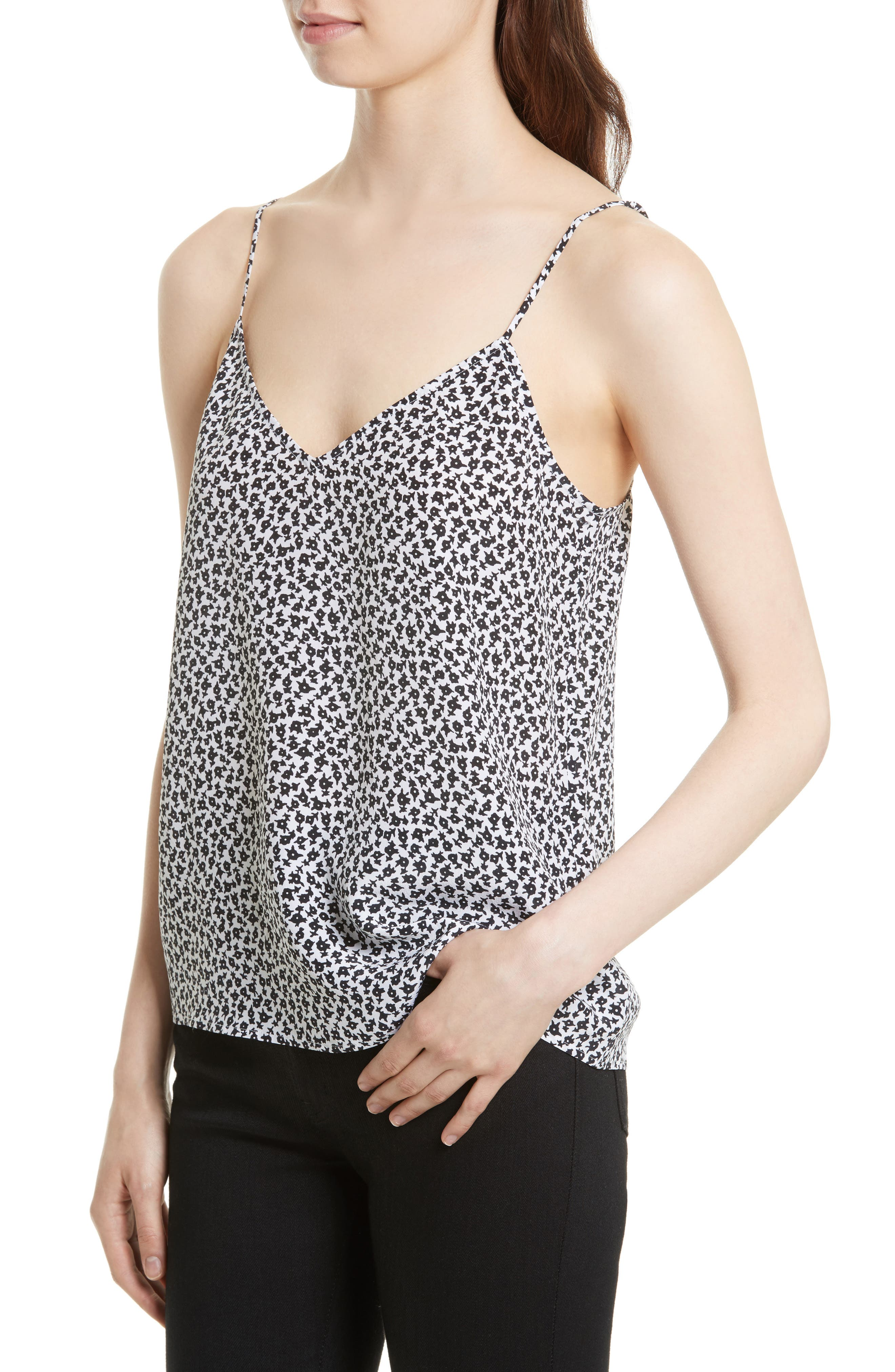 Alternate Image 4  - Equipment Layla Print Silk Camisole