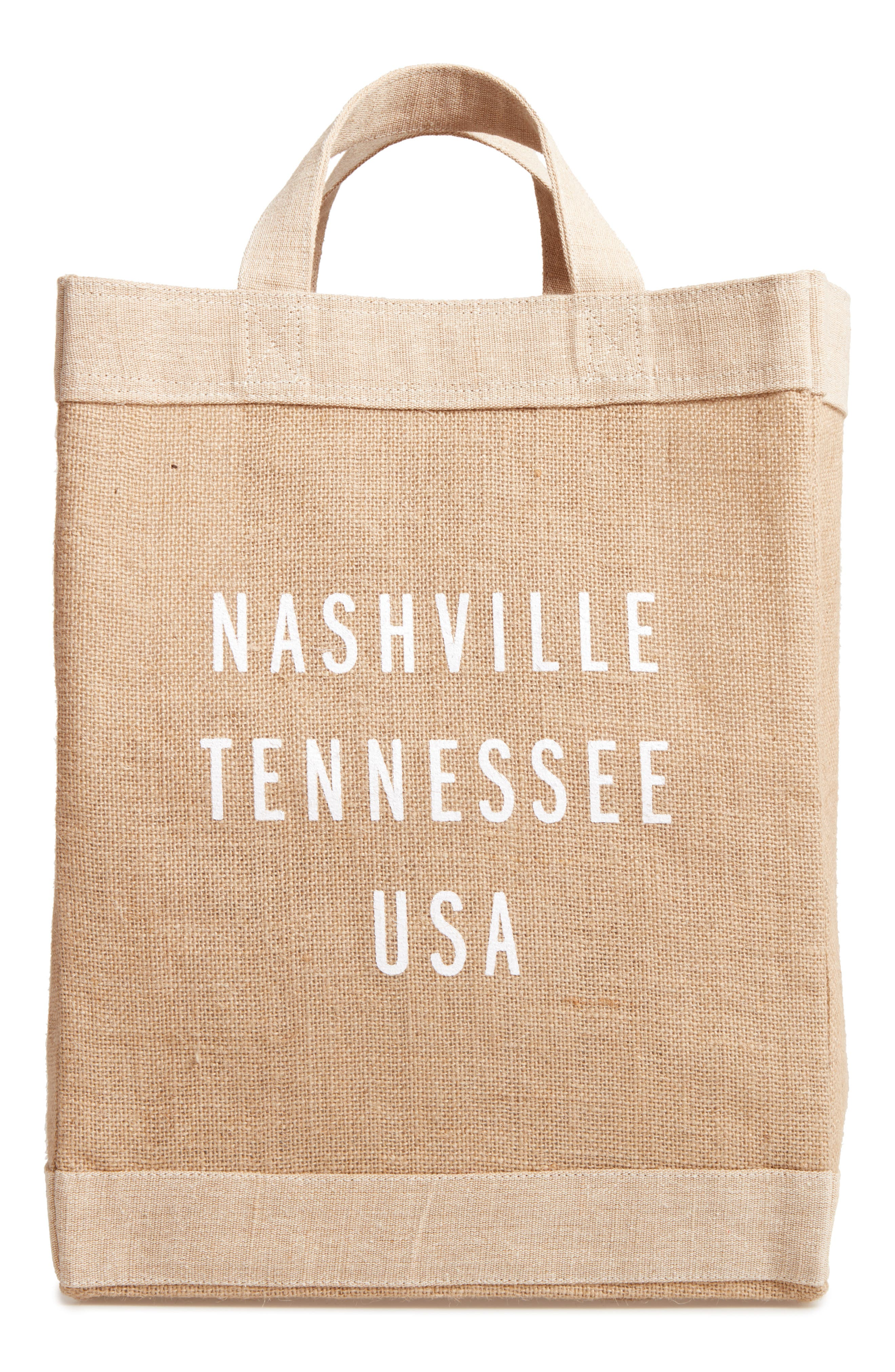 APOLIS Nashville Simple Market Bag