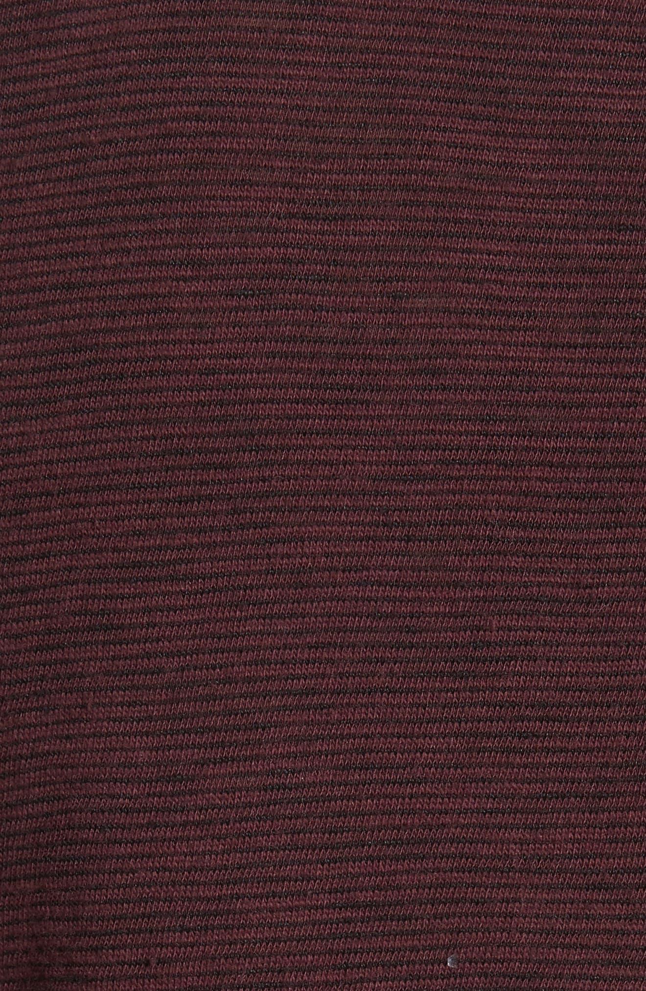 Owen Pocket T-Shirt,                             Alternate thumbnail 5, color,                             Mohagany