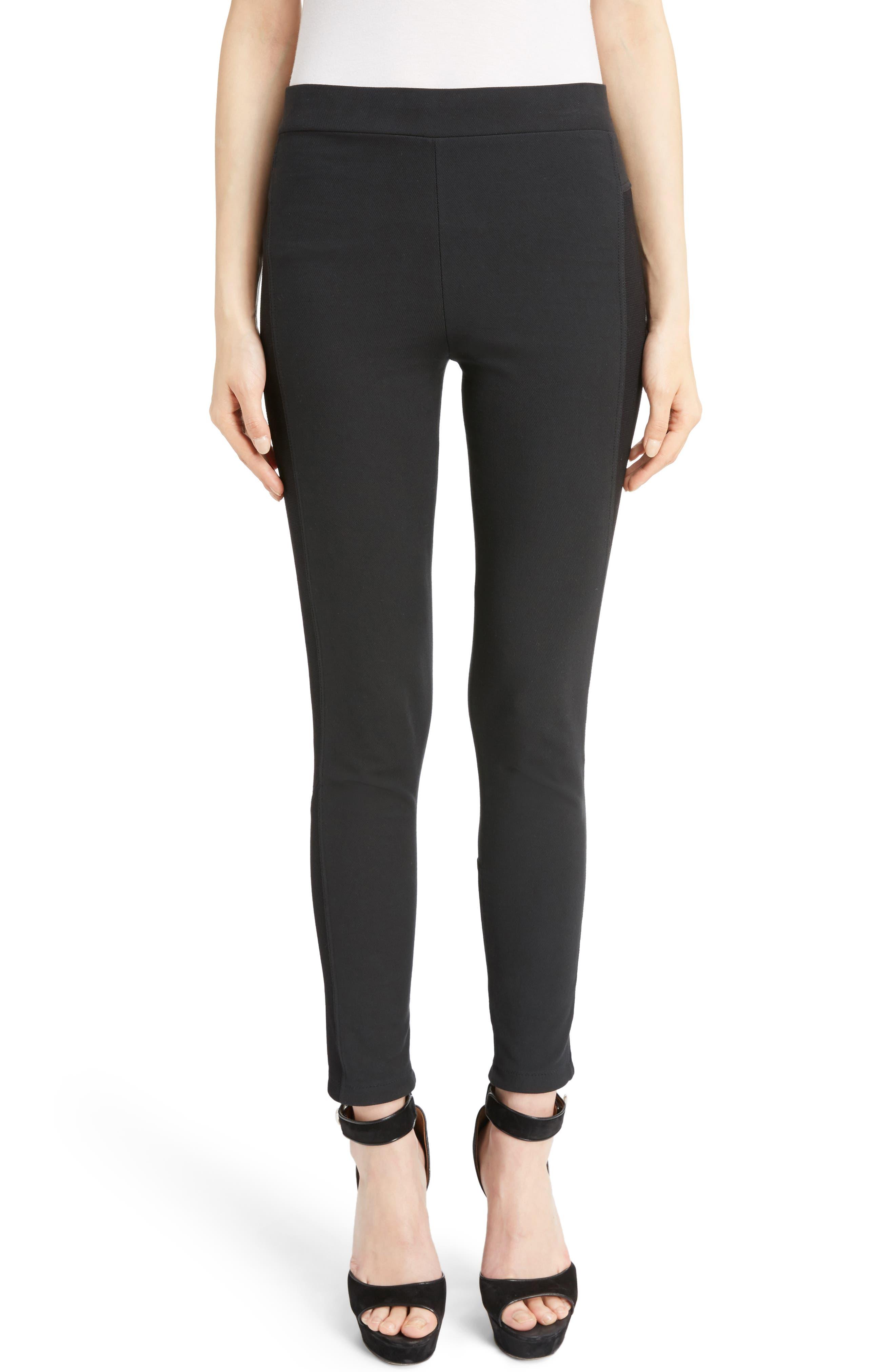 Skinny Ankle Pants,                         Main,                         color, Black